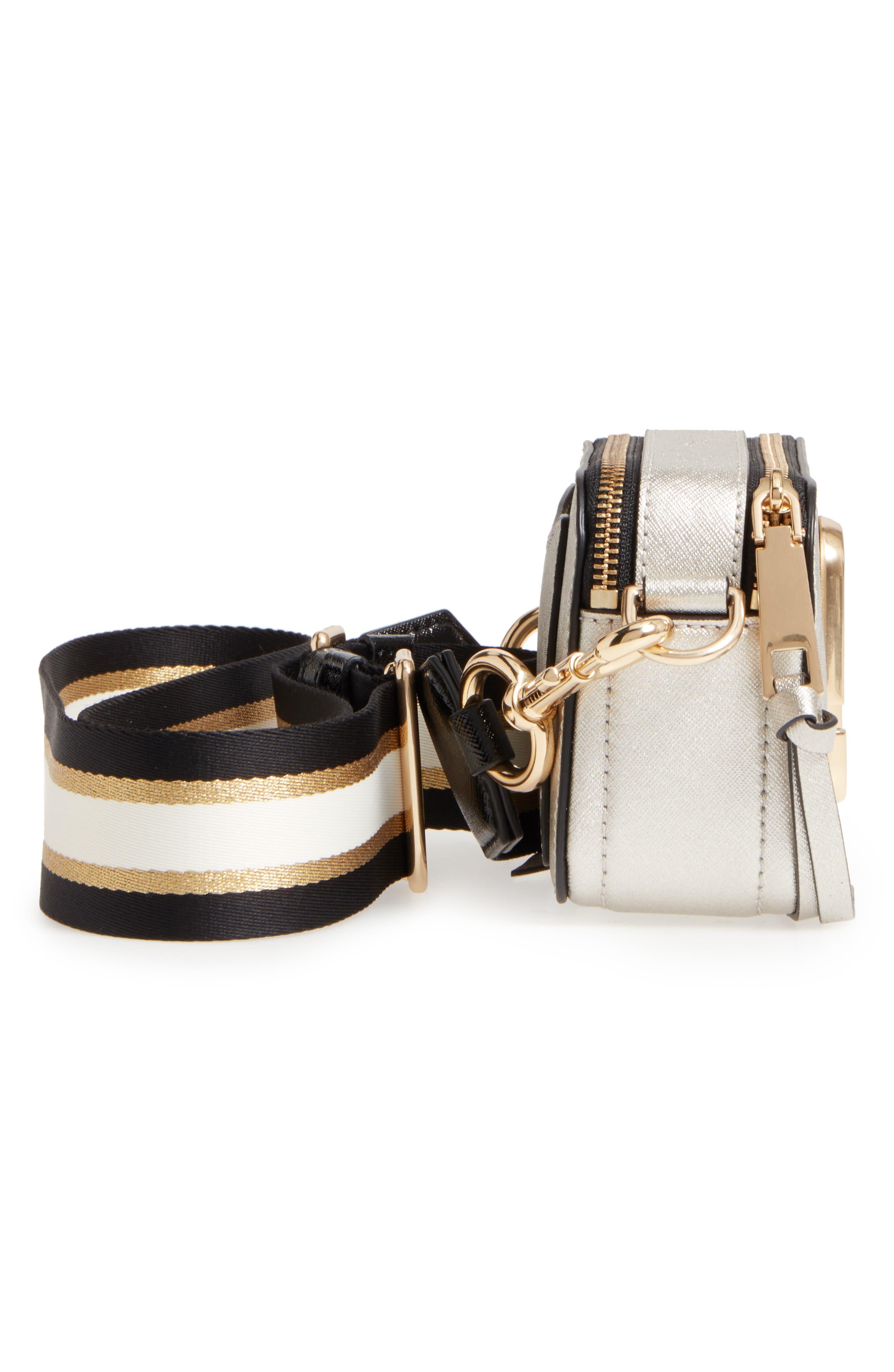 Alternate Image 5  - MARC JACOBS Snapshot Leather Crossbody Bag