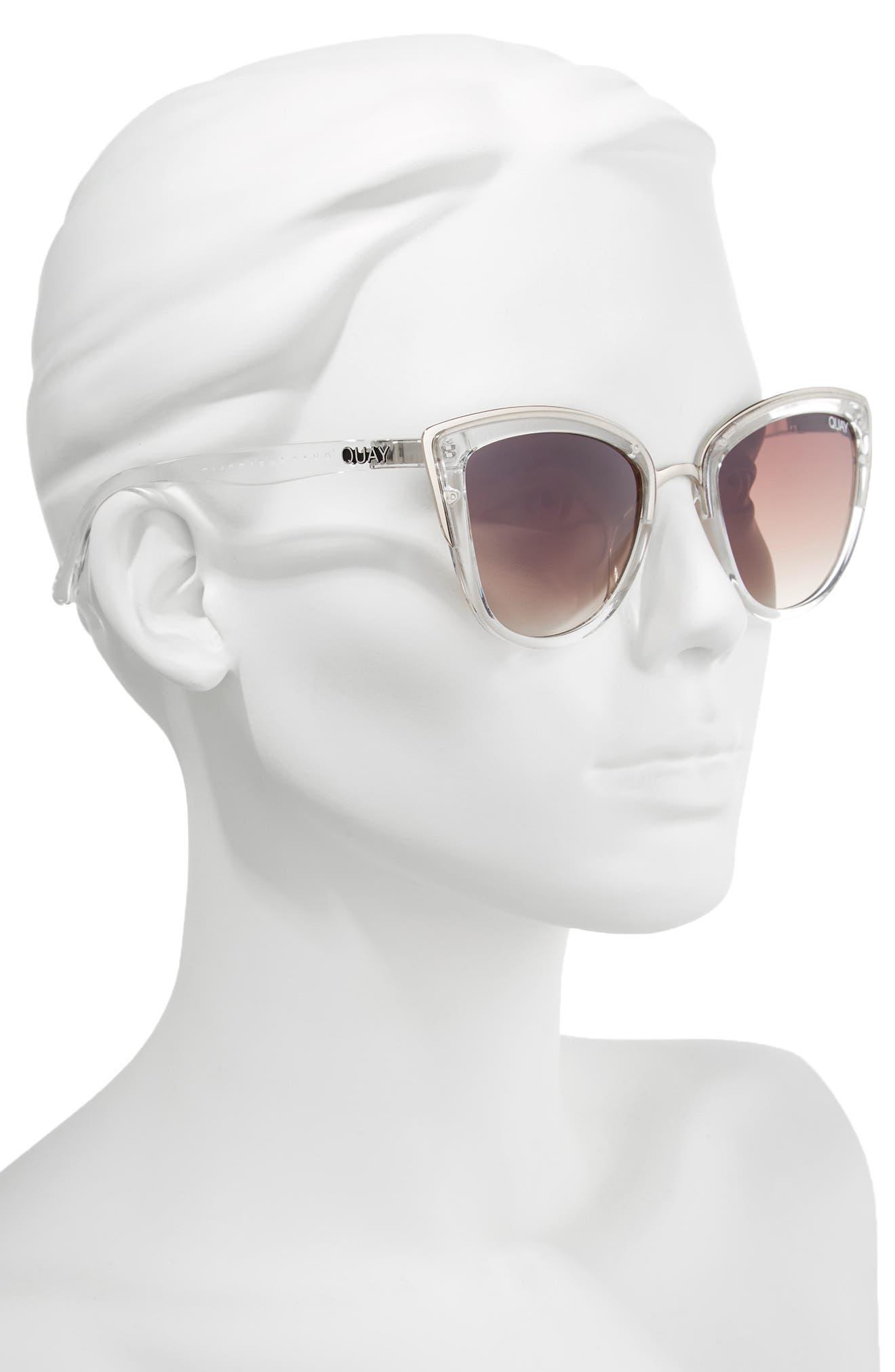Alternate Image 3  - Quay Australia 'My Girl' 50mm Cat Eye Sunglasses