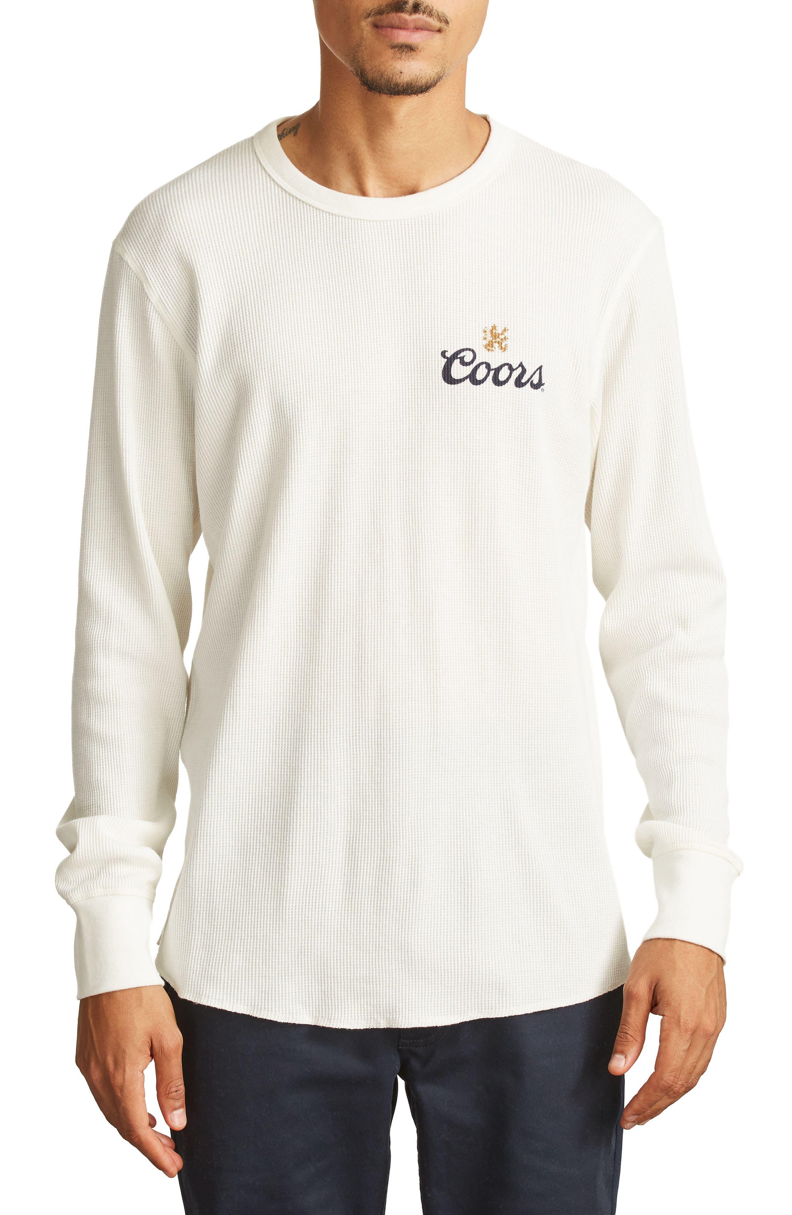x Coors Cask T-Shirt,                         Main,                         color, Off White
