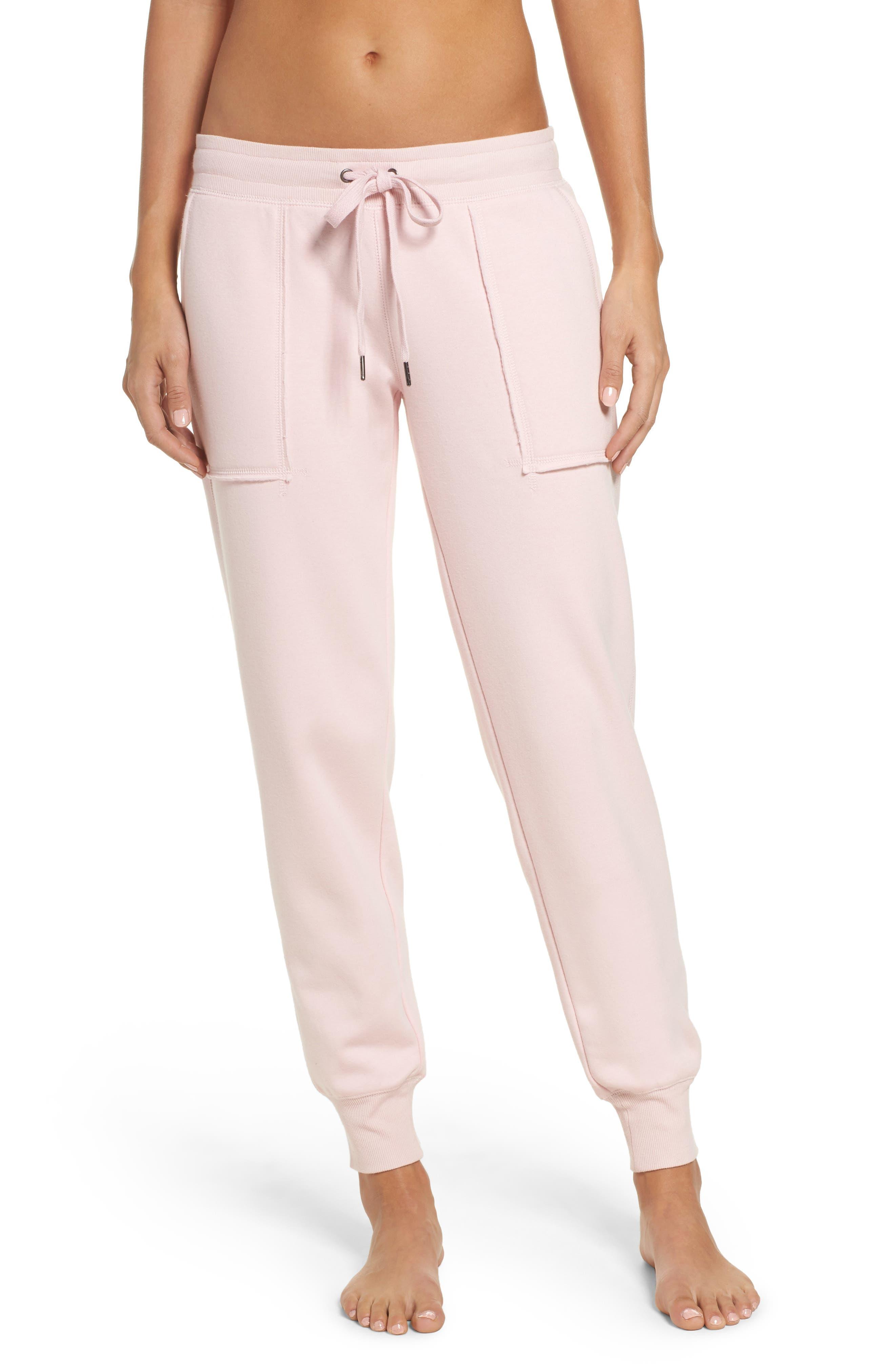 Lounge Jogger Pants,                         Main,                         color, Blush