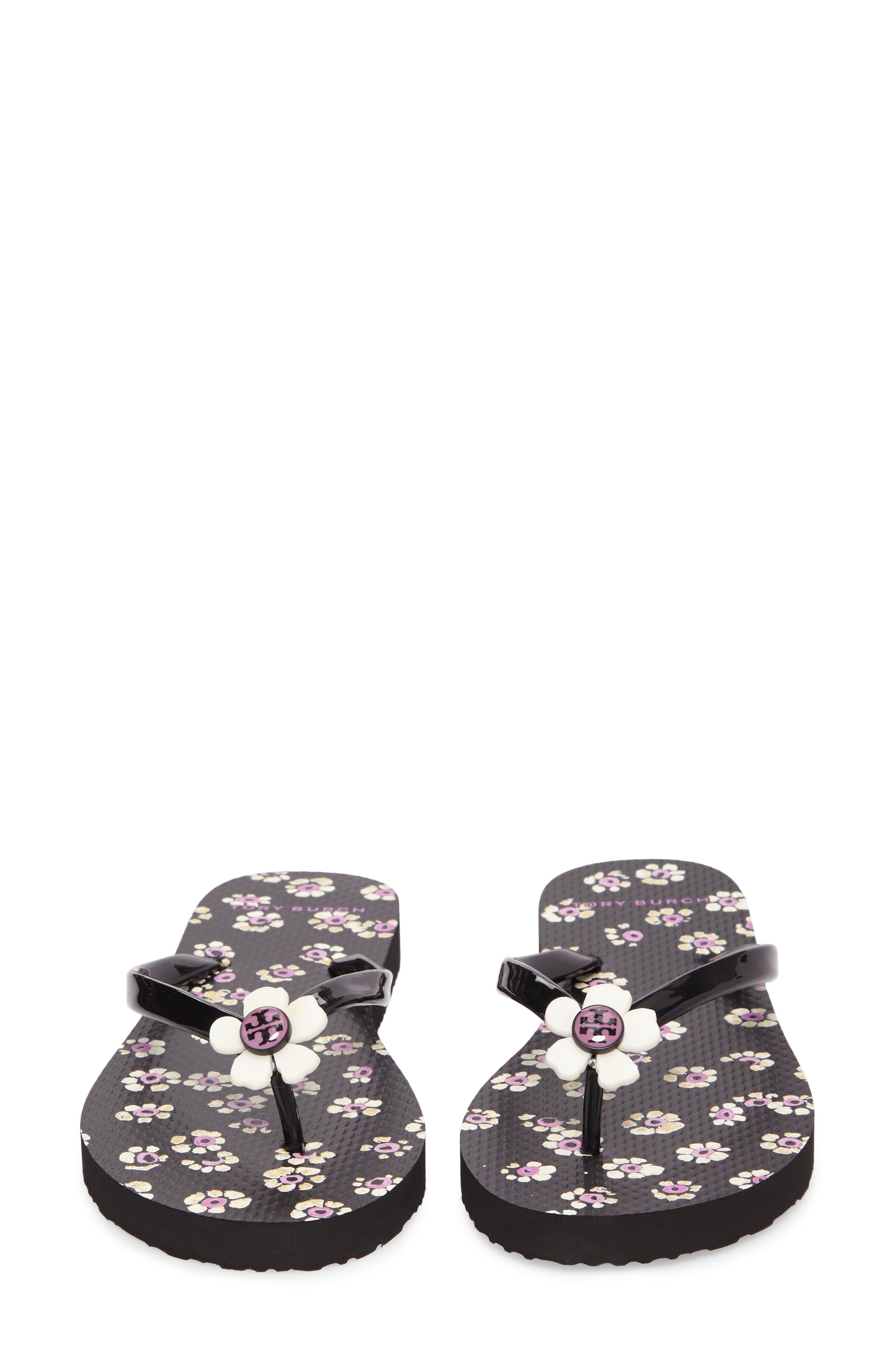 Alternate Image 4  - Tory Burch Flower Flip-Flop (Women)