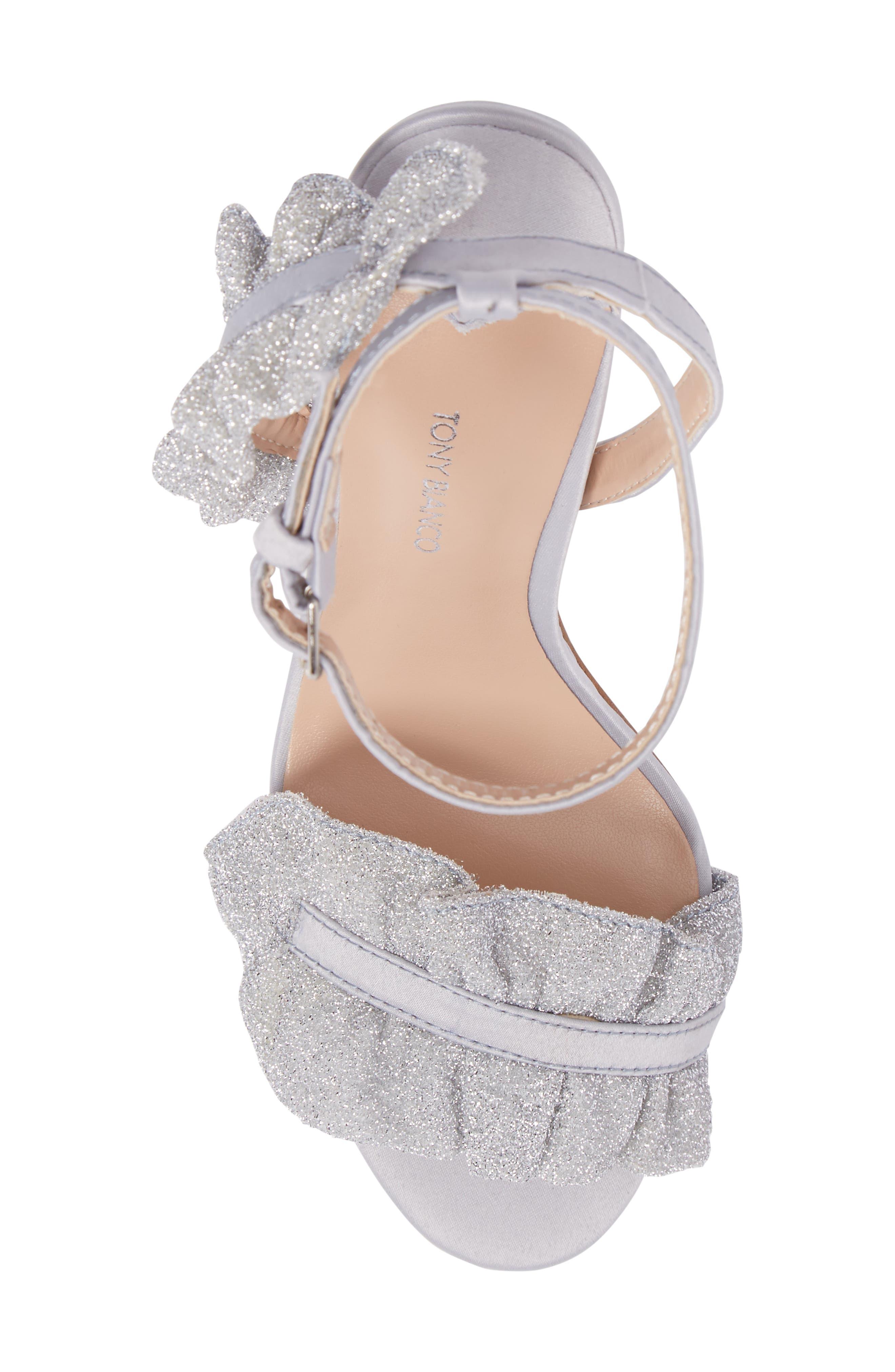 Alternate Image 5  - Tony Bianco Katy Ruffle Sandal (Women)