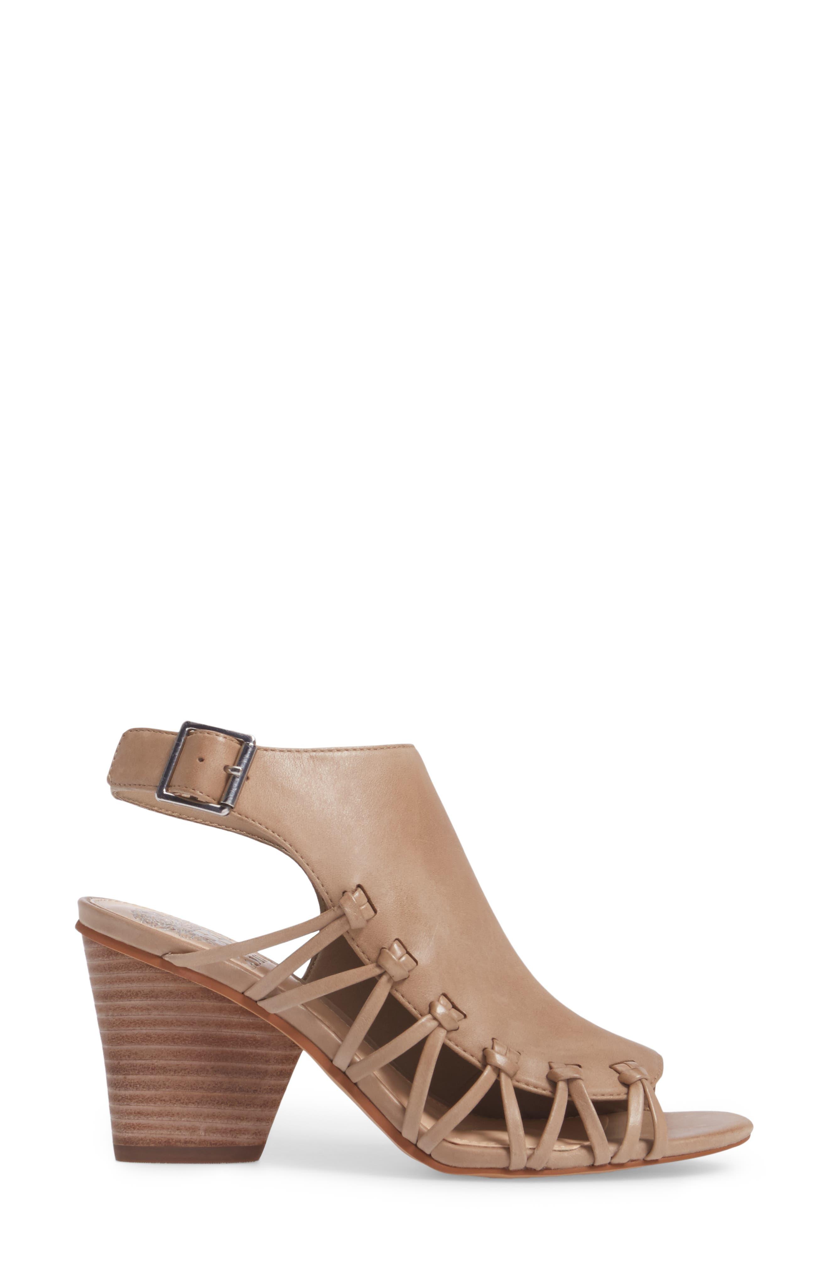 Ankara Sandal,                             Alternate thumbnail 3, color,                             Urban Beige Leather