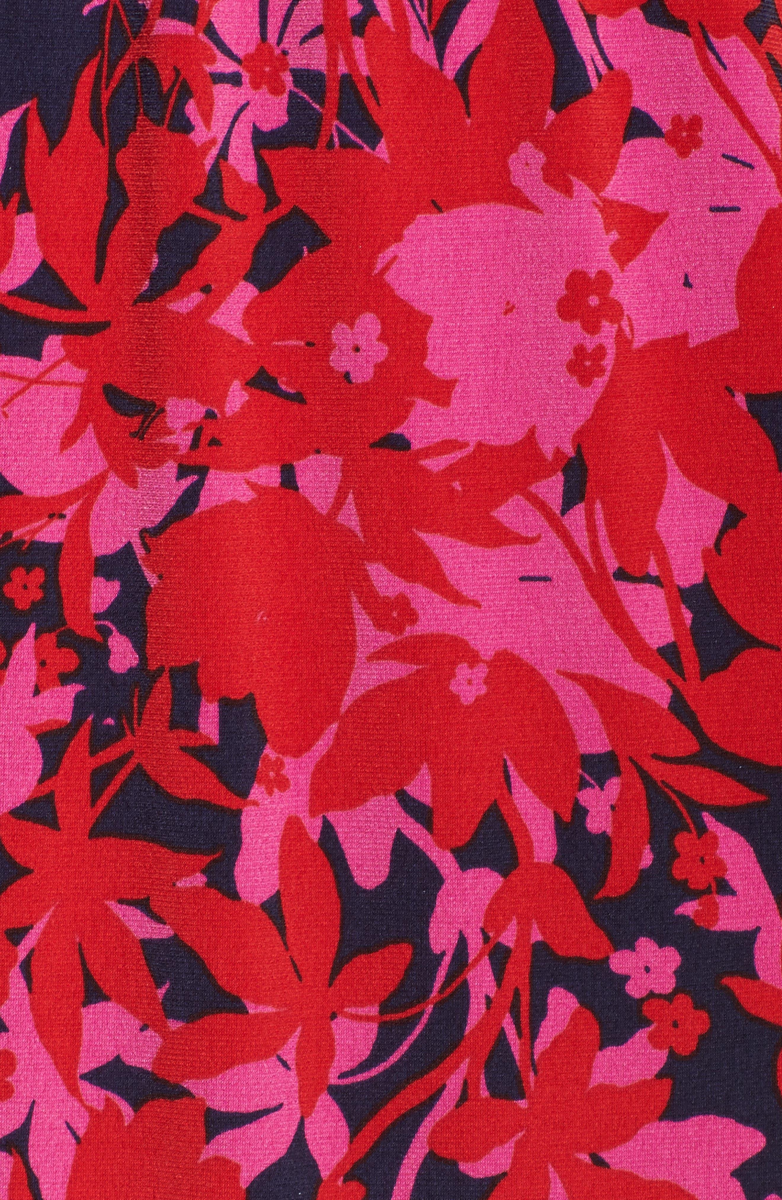 Alternate Image 5  - Leota Bridget Floral Faux Wrap Maxi Dress (Plus Size)