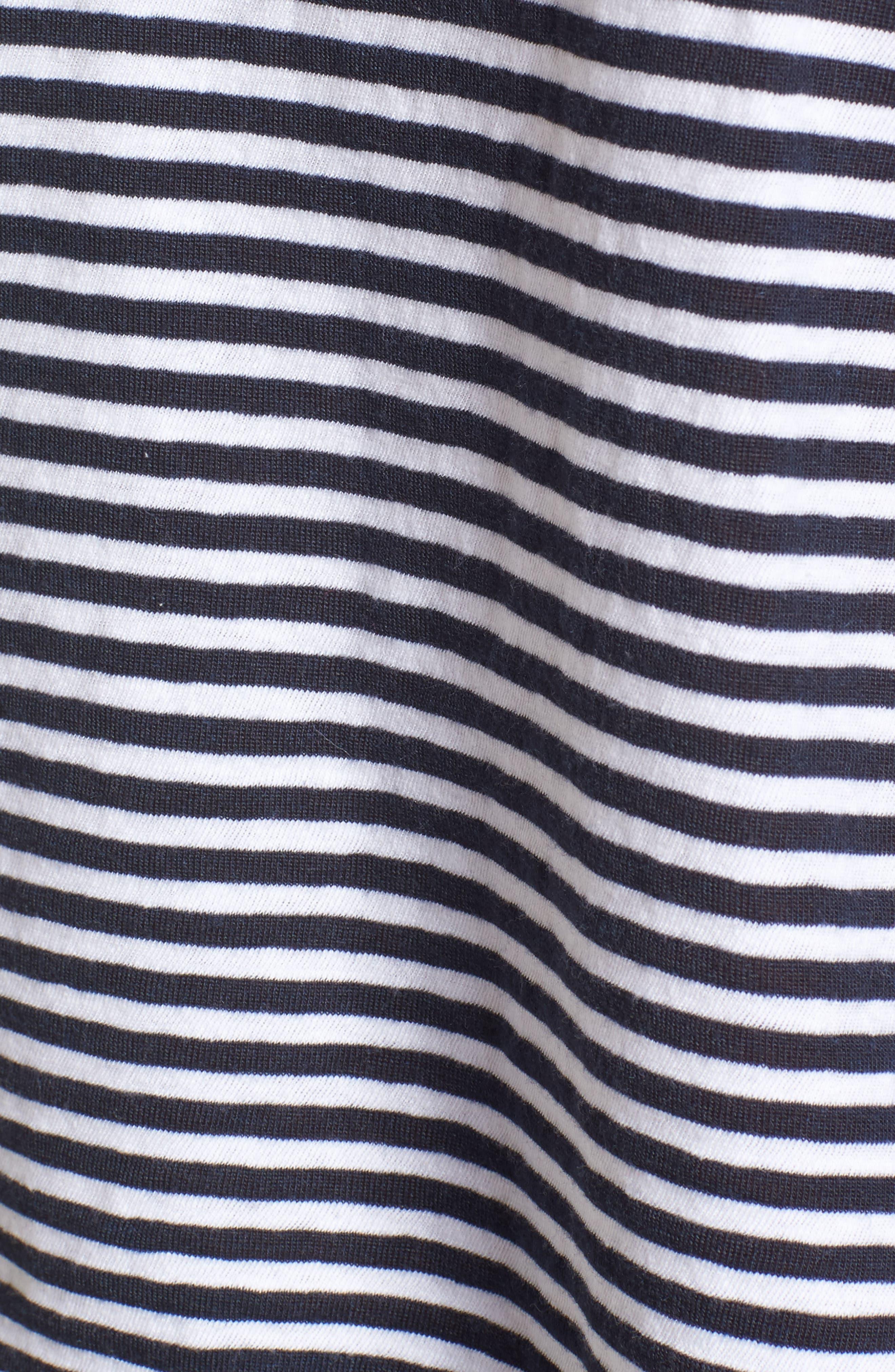 Alternate Image 5  - Velvet by Graham & Spencer Stripe California Top