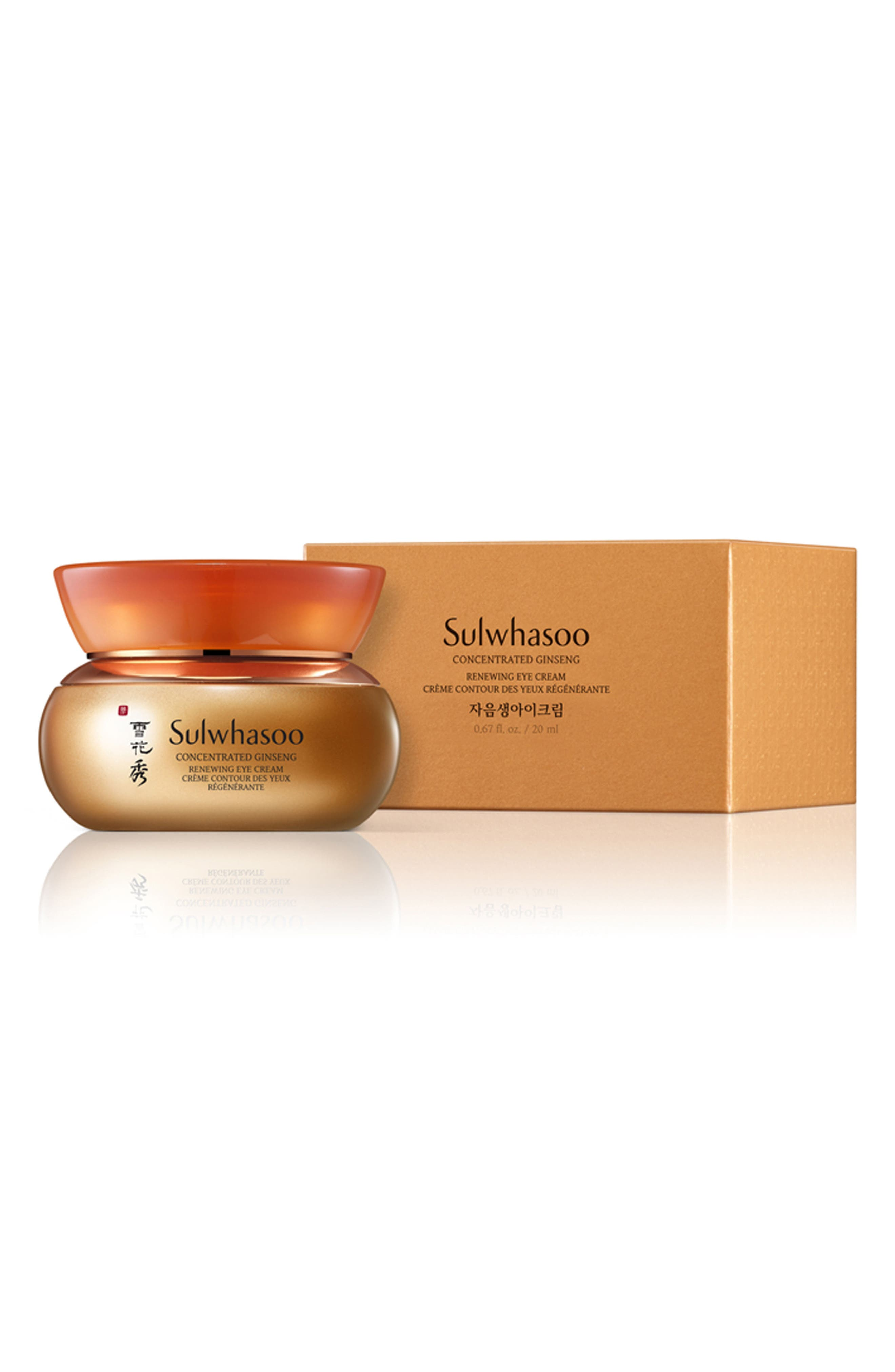 Alternate Image 3  - Sulwhasoo Concentrated Ginseng Renewing Eye Cream