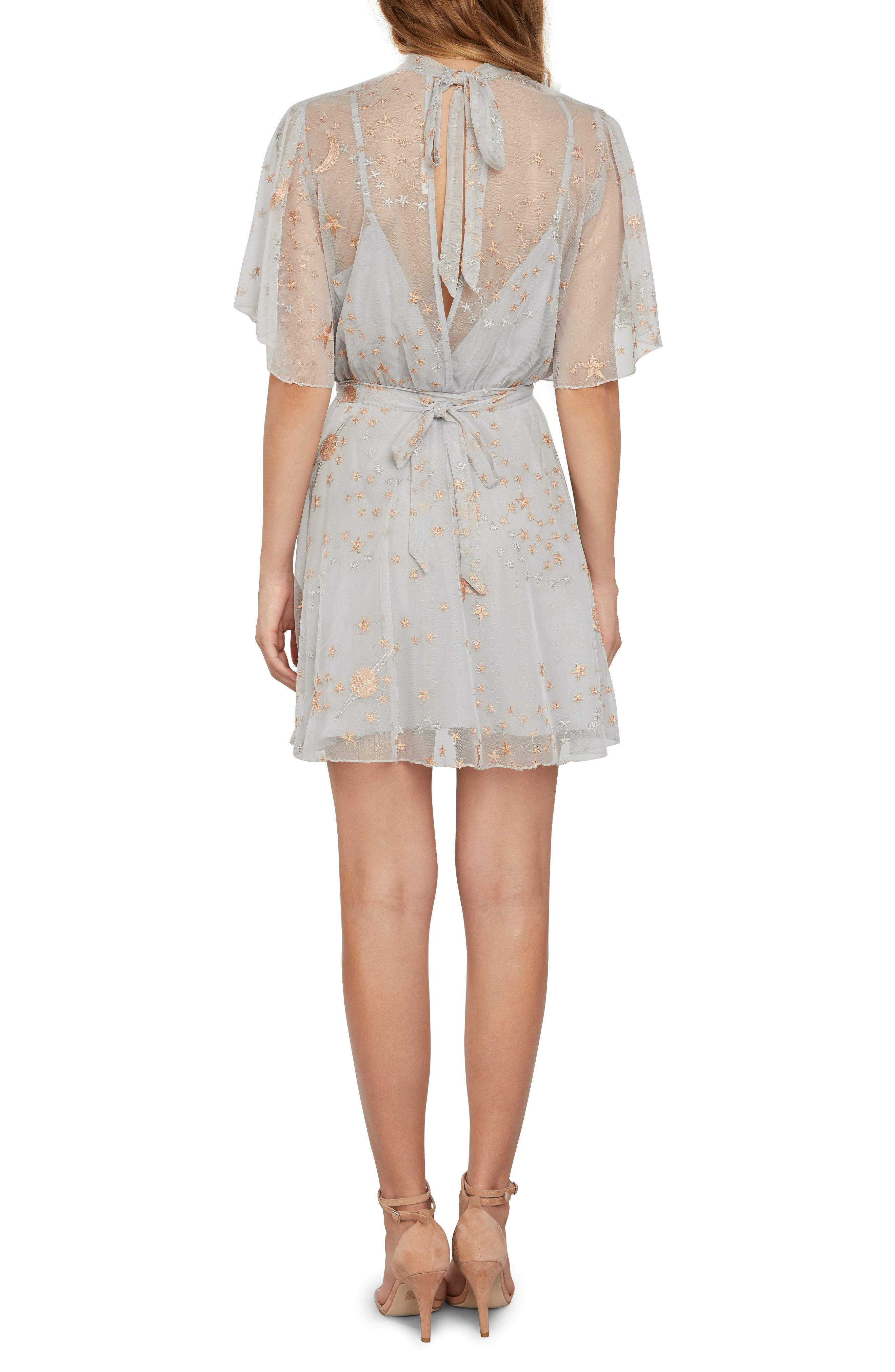 Alternate Image 2  - Willow & Clay Embroidered Minidress