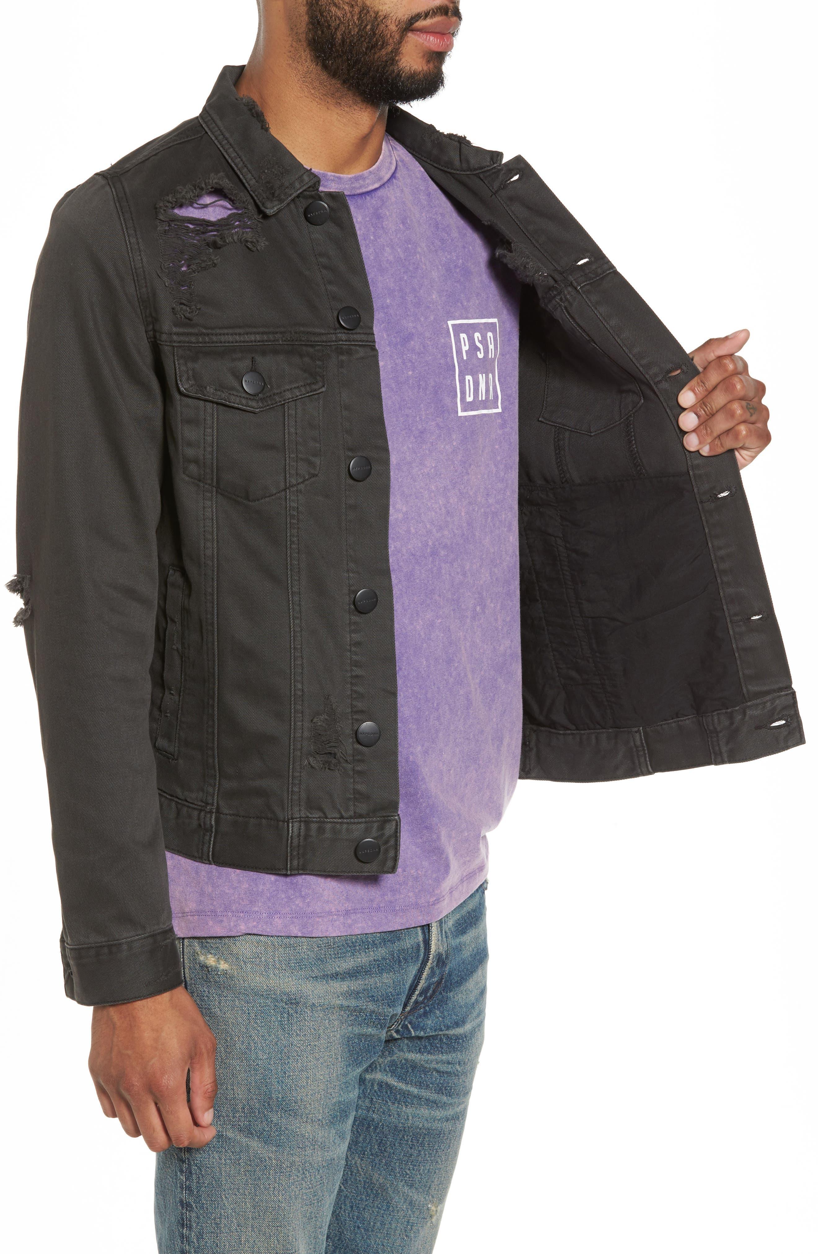 Alternate Image 3  - NXP Norge Denim Jacket