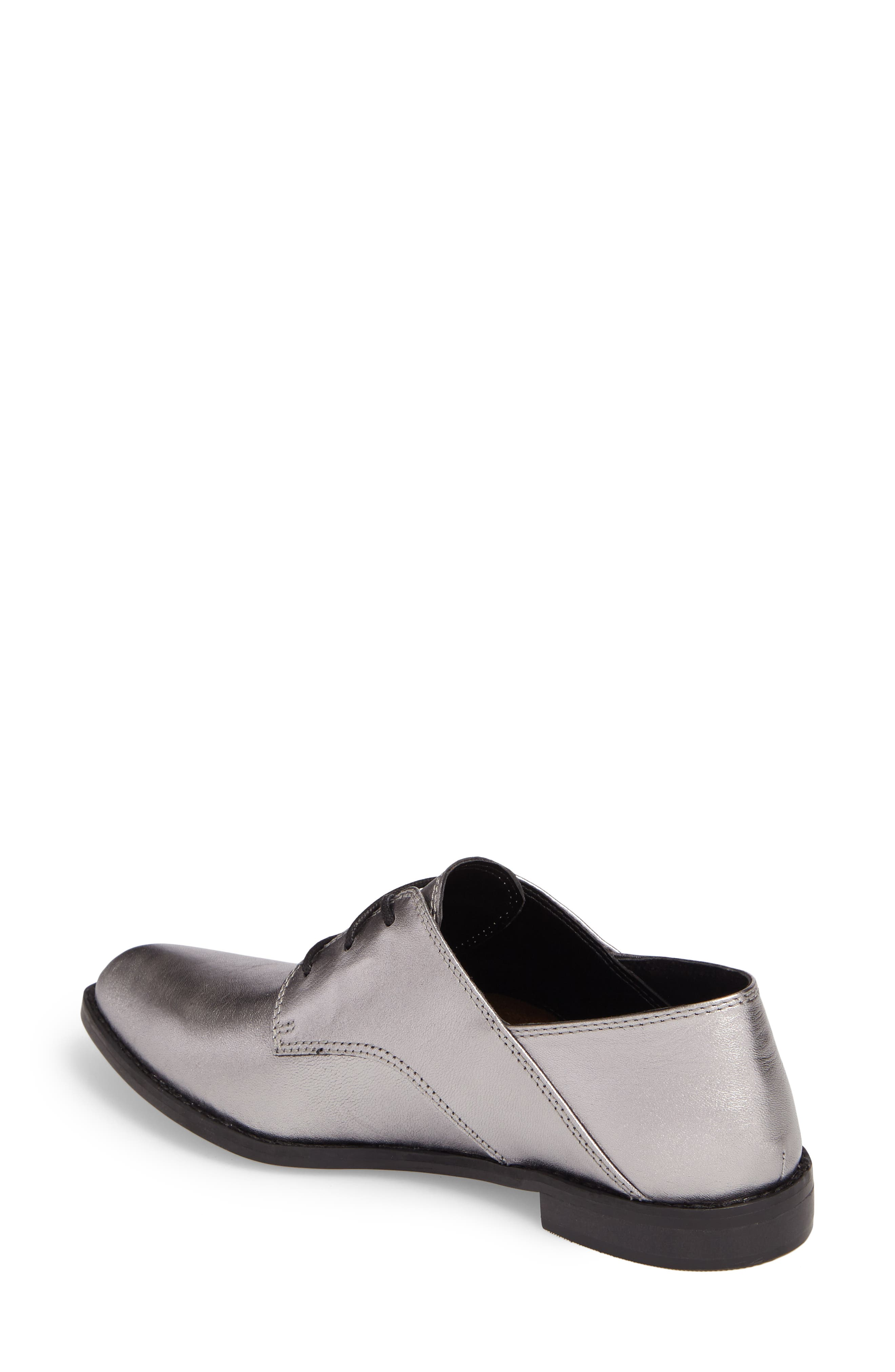 Corbin Oxford,                             Alternate thumbnail 2, color,                             Pewter Leather
