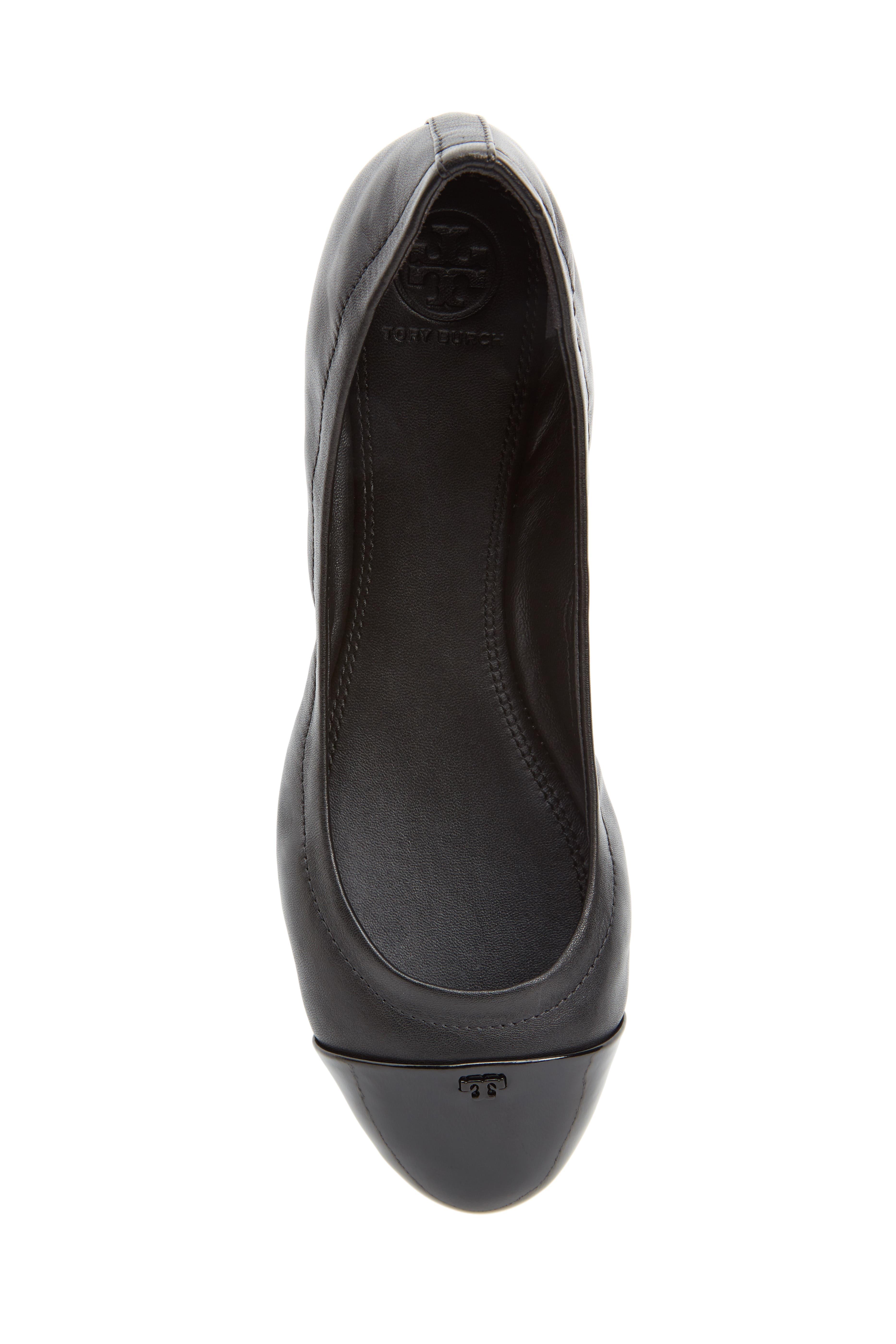Alternate Image 5  - Tory Burch Shelby Cap Toe Ballet Flat (Women)