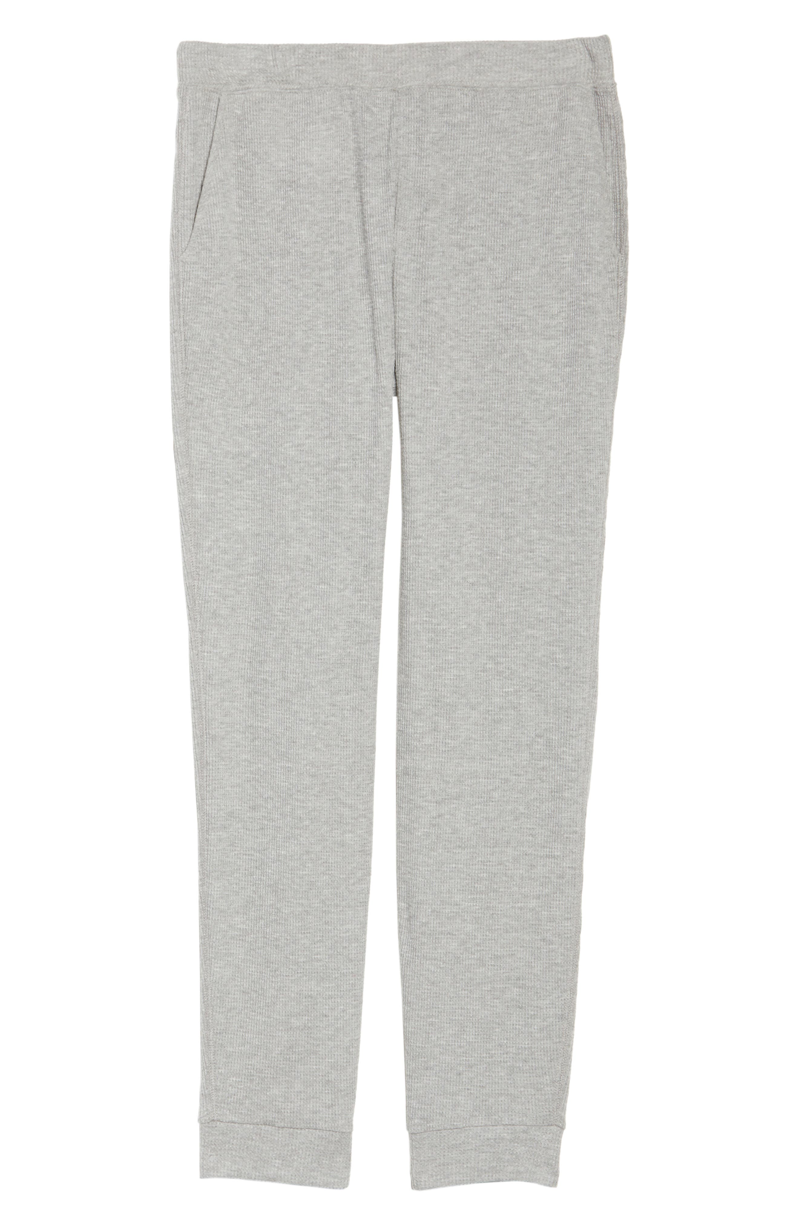 Alternate Image 6  - skin Ily Waffle Knit Lounge Pants