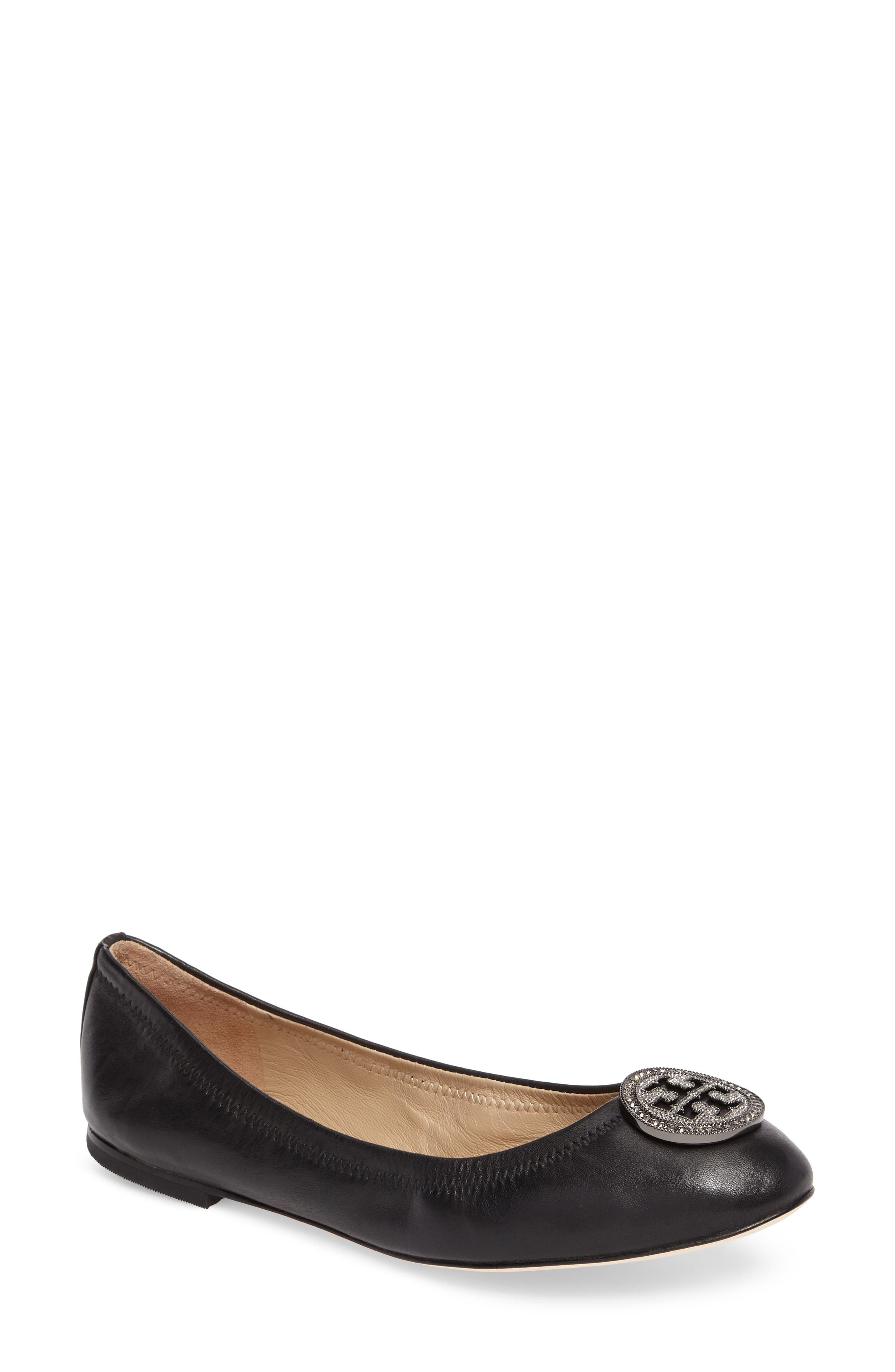 Alternate Image 1 Selected - Tory Burch Liana Ballet Flat (Women)