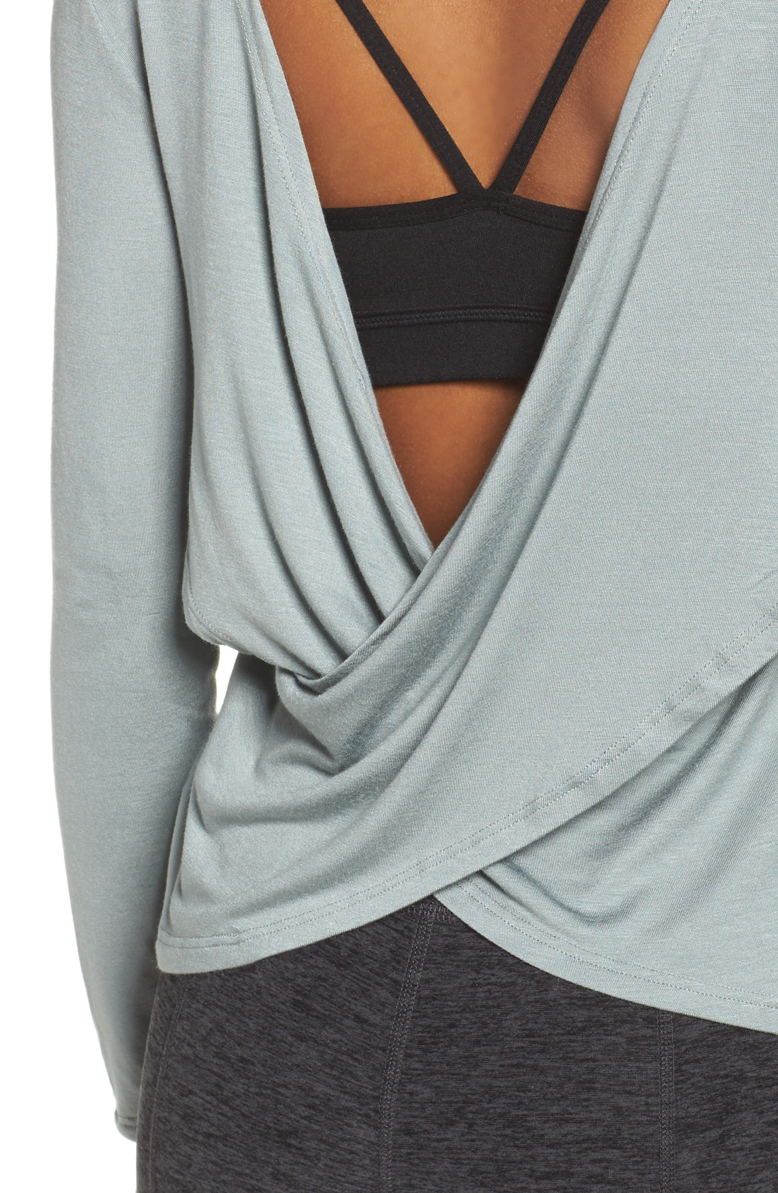 Alternate Image 4  - Beyond Yoga Twist of Fate Pullover