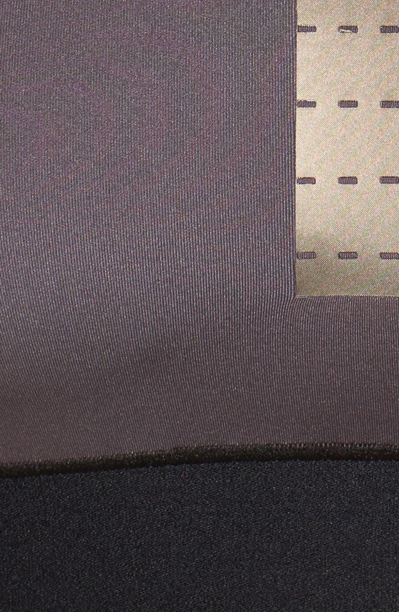 Altitude Silk AK17 Crop Top,                             Alternate thumbnail 6, color,                             Taupe/ Taupe Satin