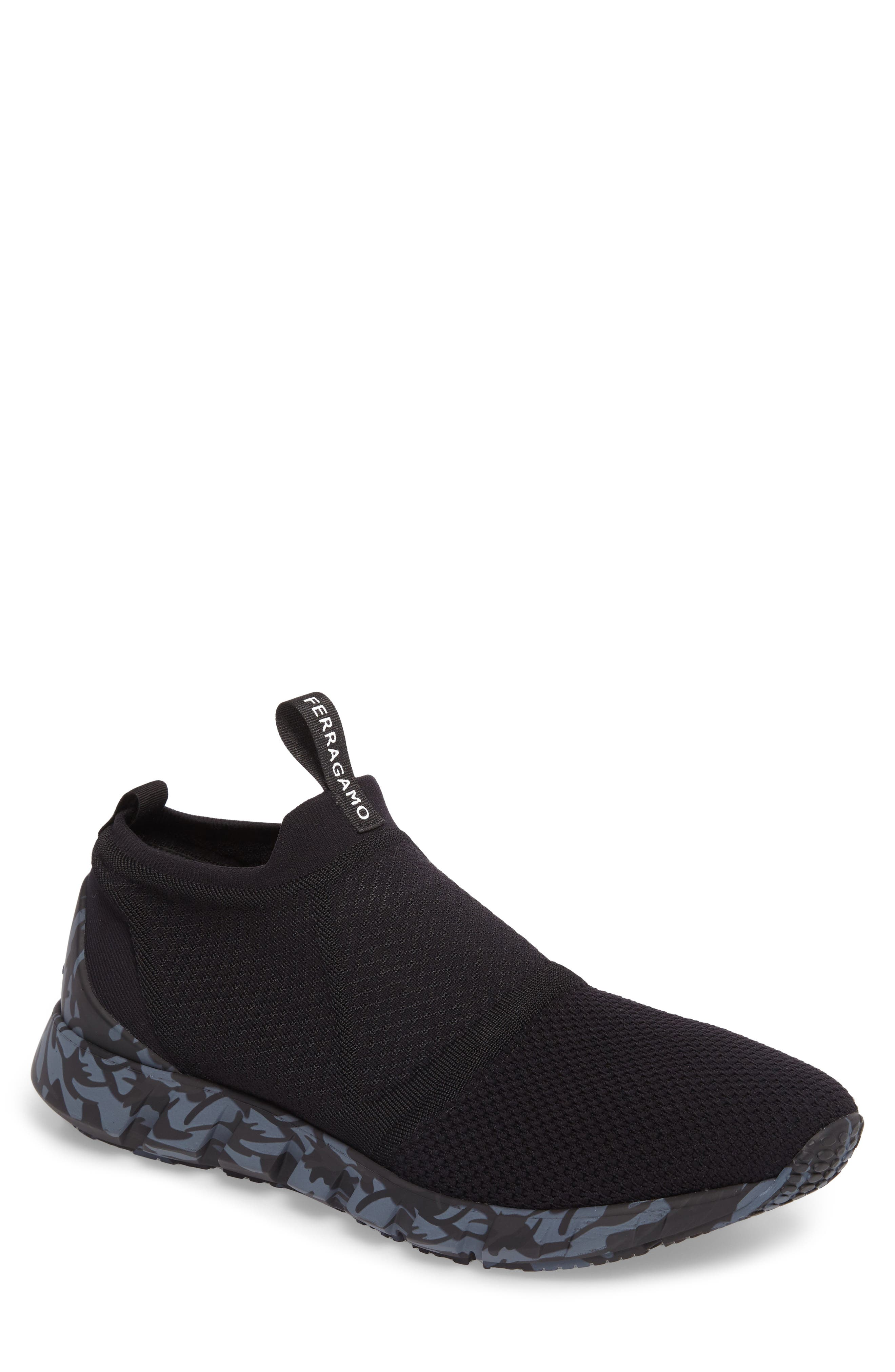 Cary Slip-On,                             Main thumbnail 1, color,                             Nero