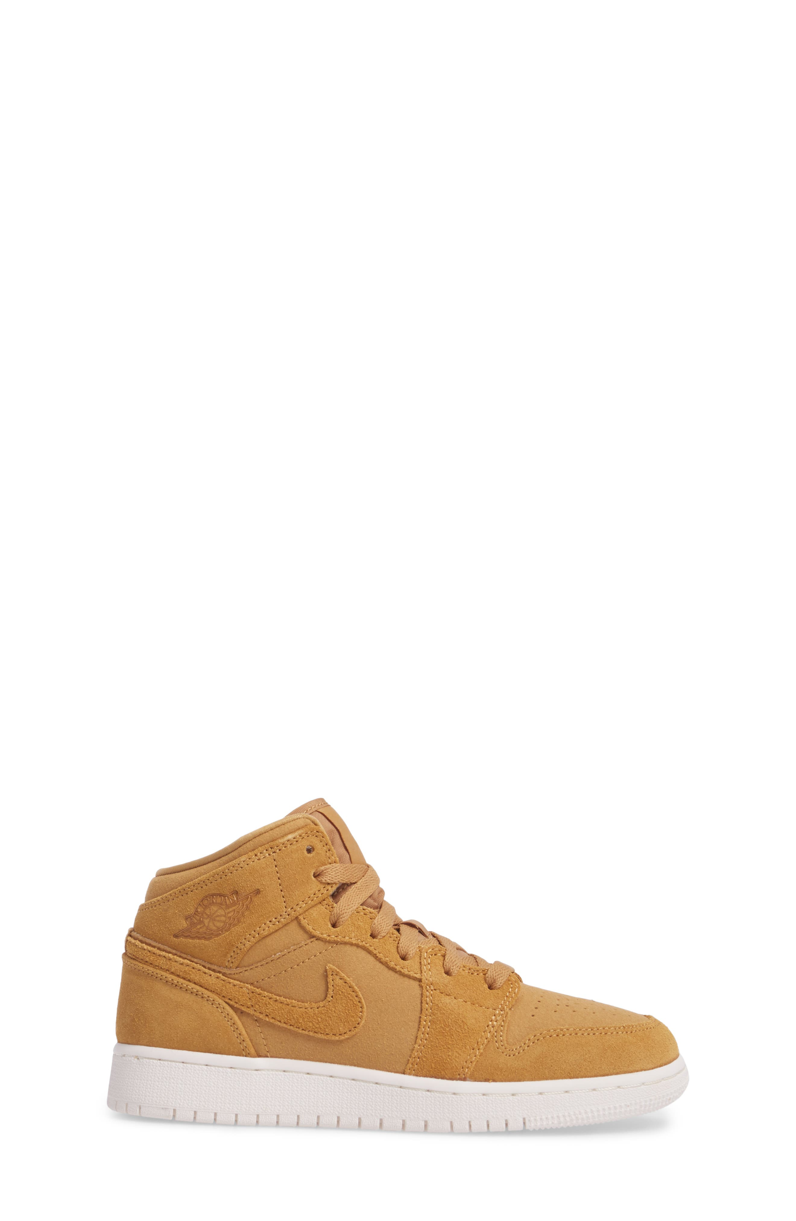 Alternate Image 3  - Nike 'Air Jordan 1 Mid' Sneaker (Big Kid)
