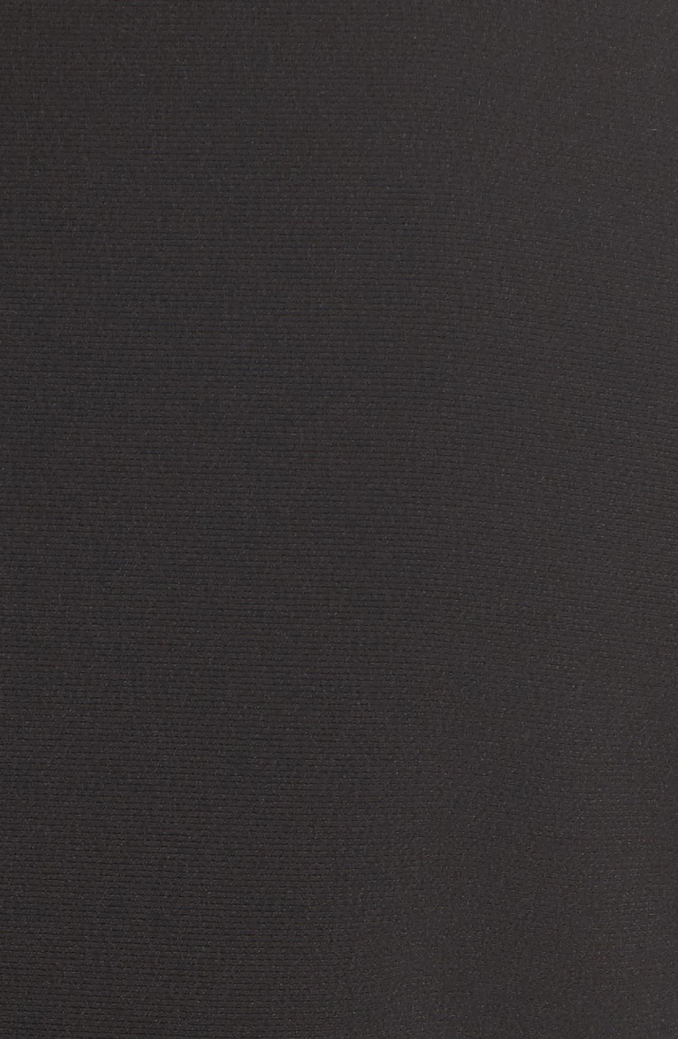 Jisuneri Crop Blazer,                             Alternate thumbnail 5, color,                             Black