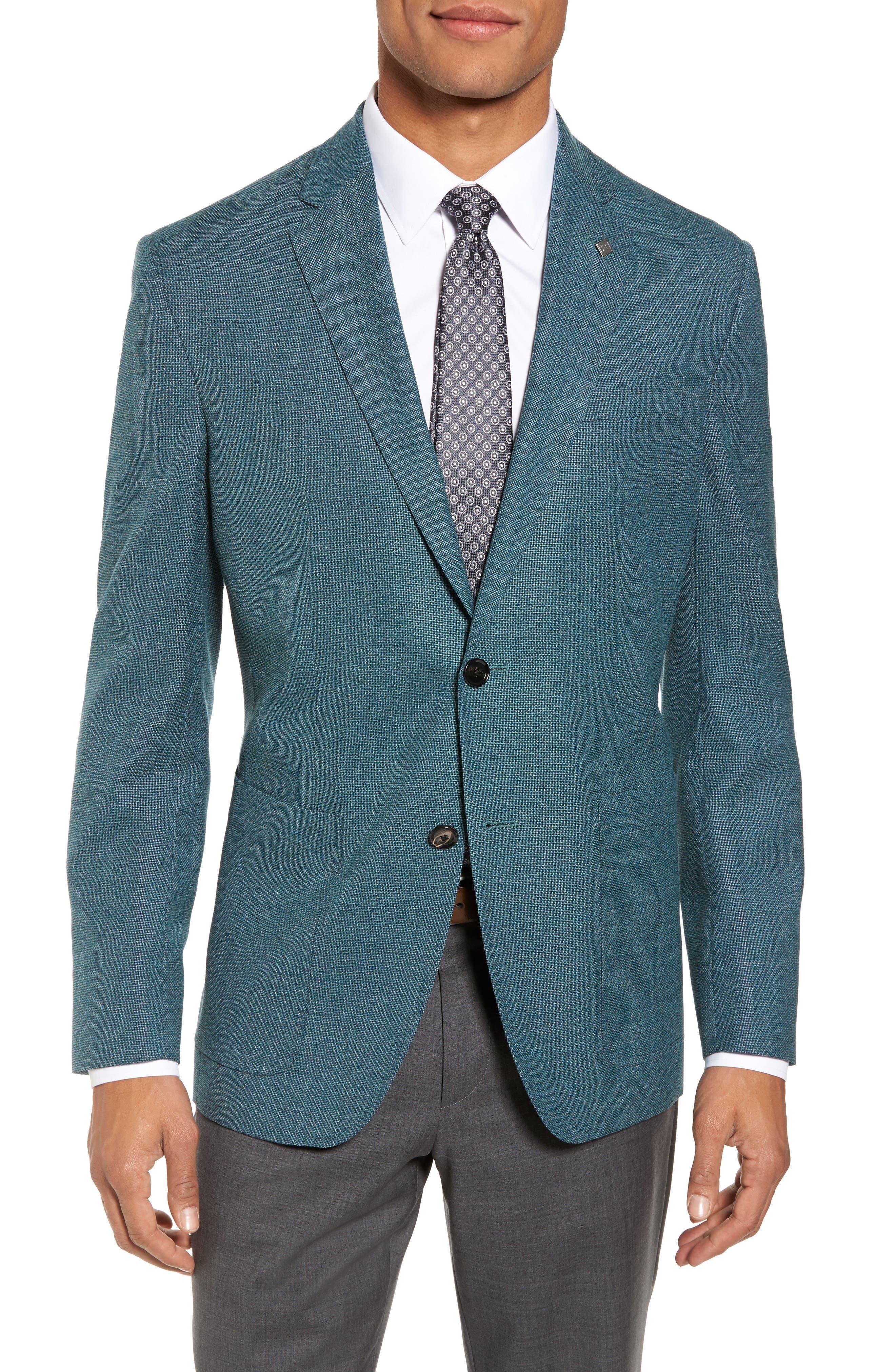 Ted Baker London Kyle Trim Fit Wool Blazer