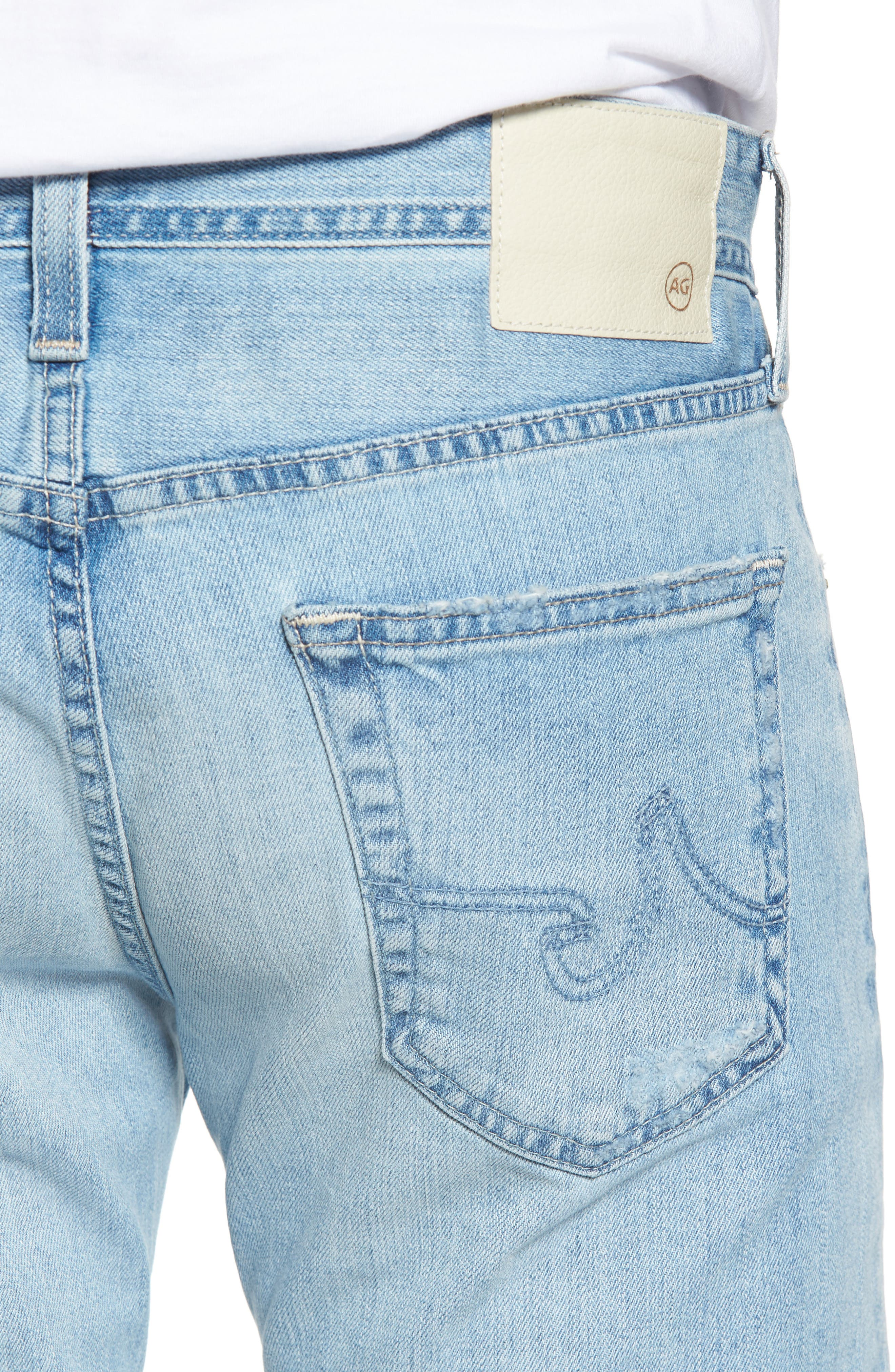 Dylan Slim Skinny Fit Jeans,                             Alternate thumbnail 4, color,                             23 Years Oceanside