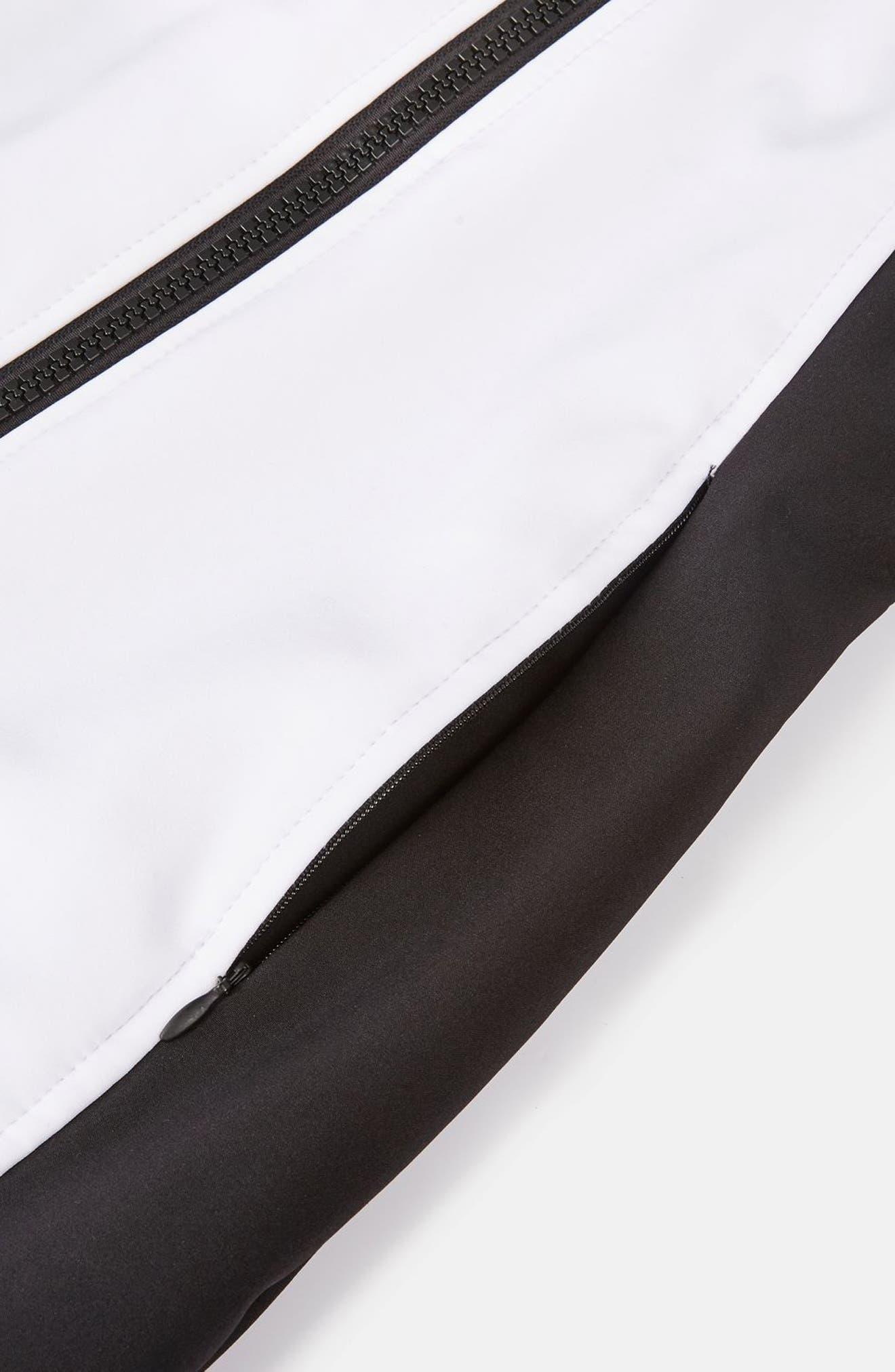 SNO Shadow Jumpsuit,                             Alternate thumbnail 6, color,                             White