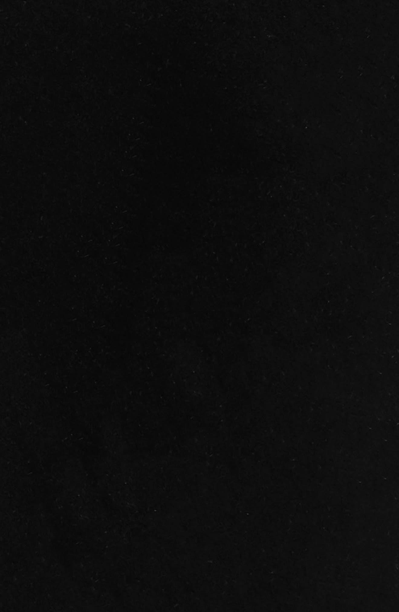 Velvet Tie,                             Alternate thumbnail 2, color,                             Black