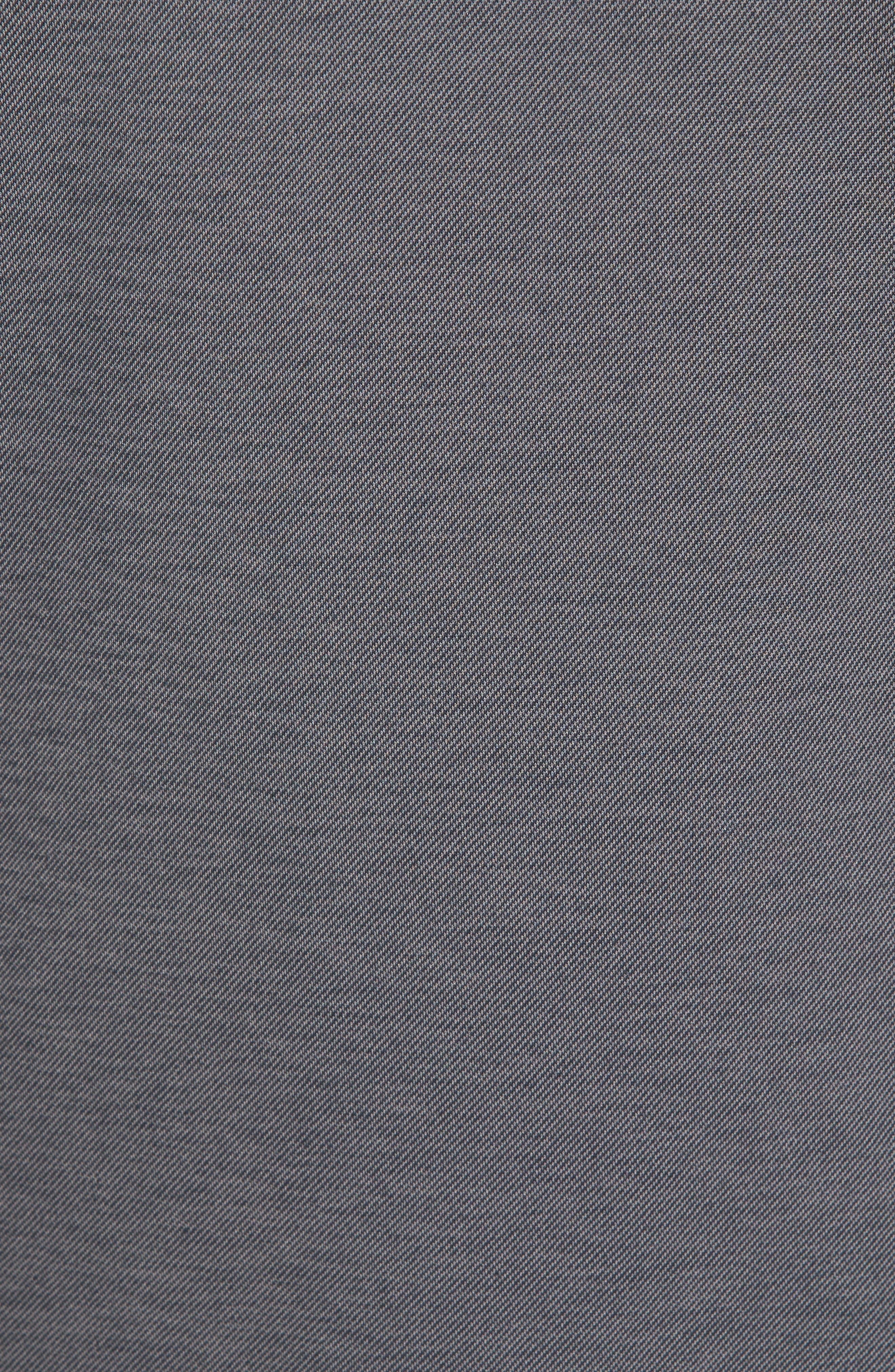 Hammond Piqué Polo,                             Alternate thumbnail 5, color,                             Black/ Sharkskin