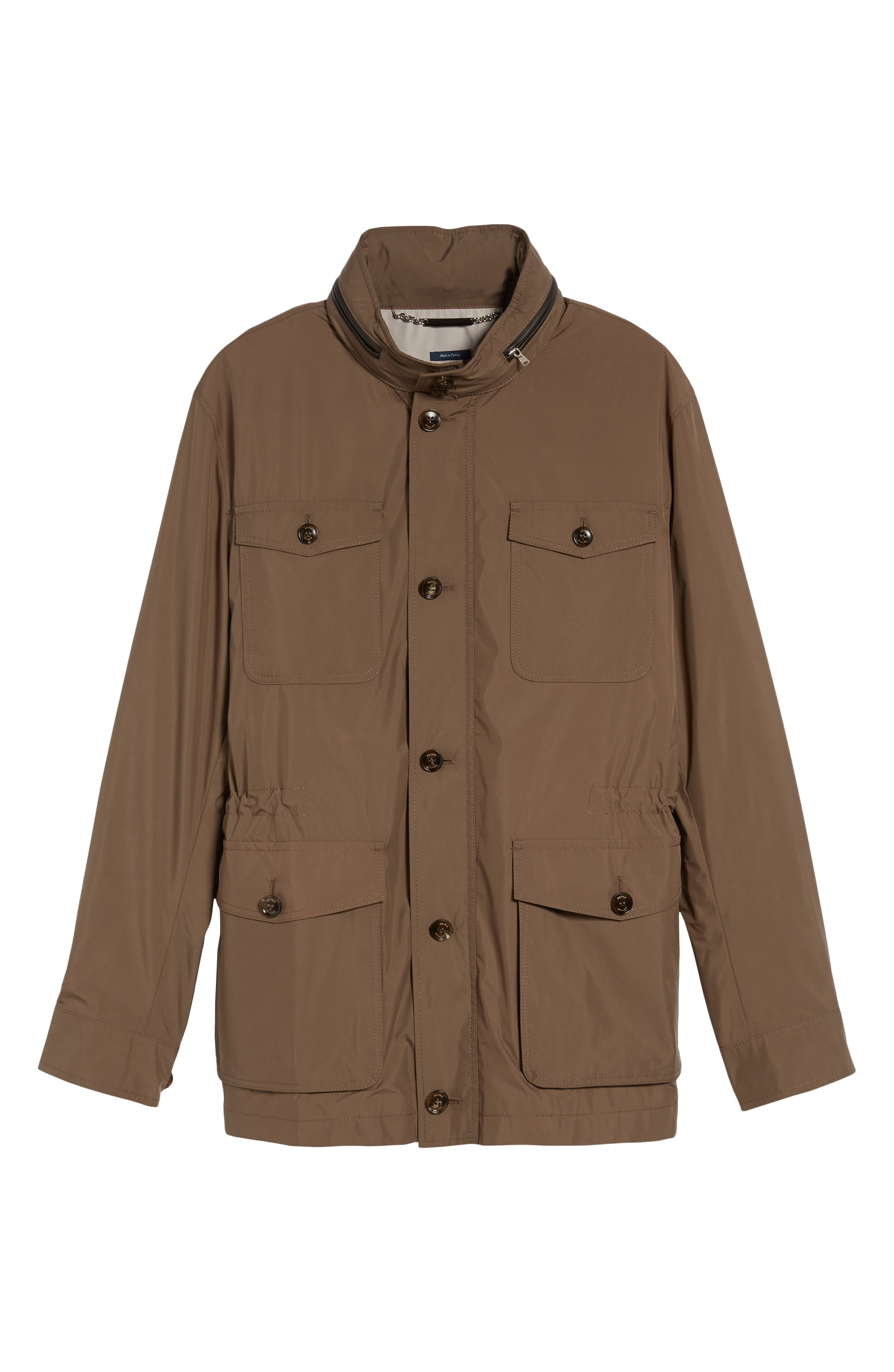 All Weather Discovery Jacket,                             Alternate thumbnail 6, color,                             Dune Surf