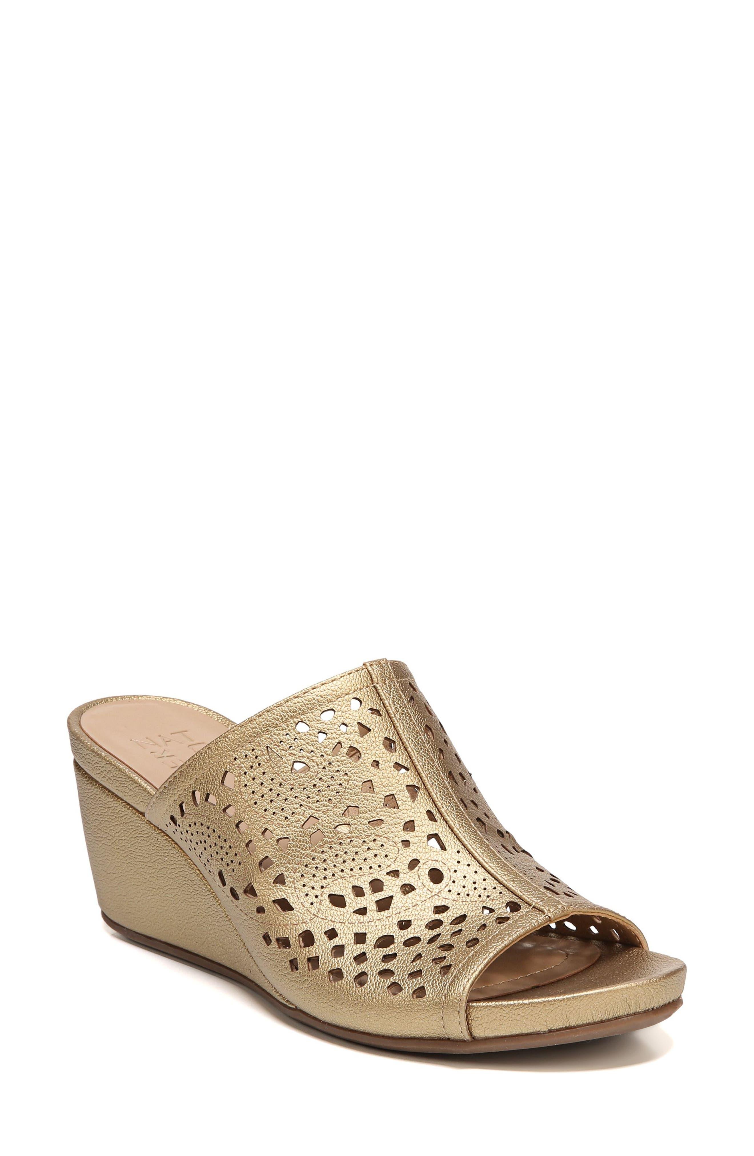 Naturalizer Cutout Wedge Sandal (Women)