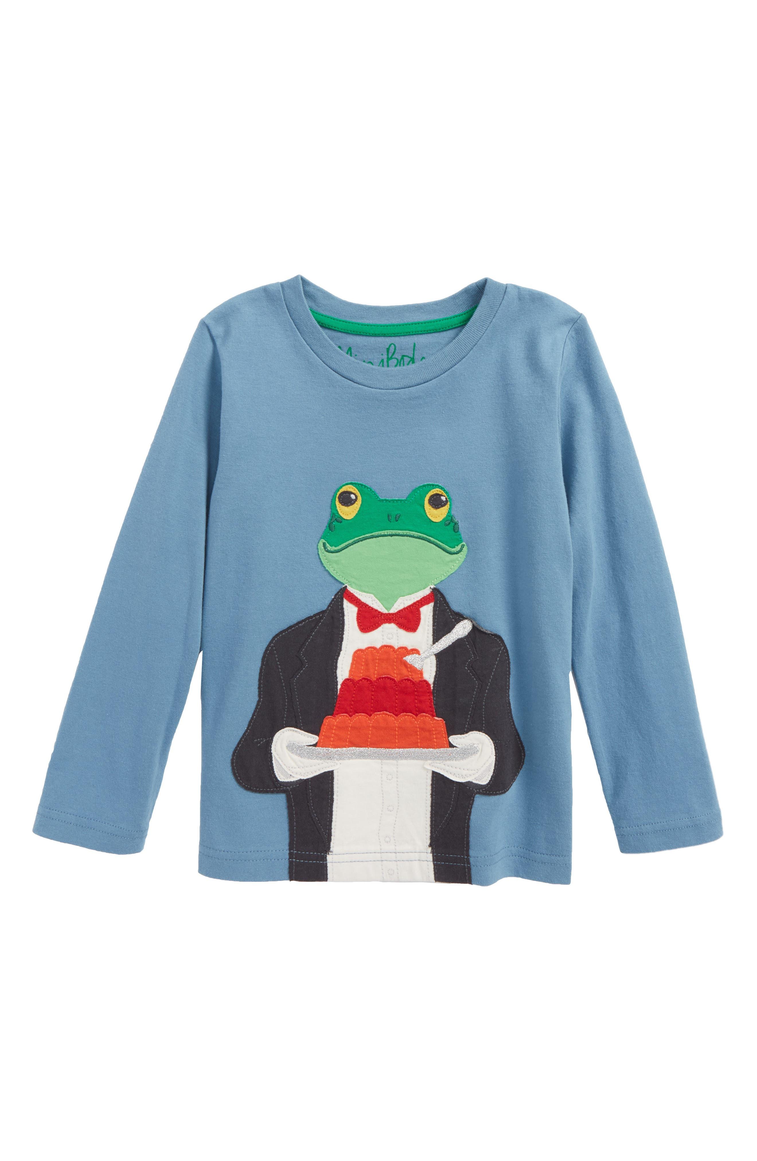 Mini Boden Splendid Animals Appliqué T-Shirt (Toddler Boys, Little Boys & Big Boys)
