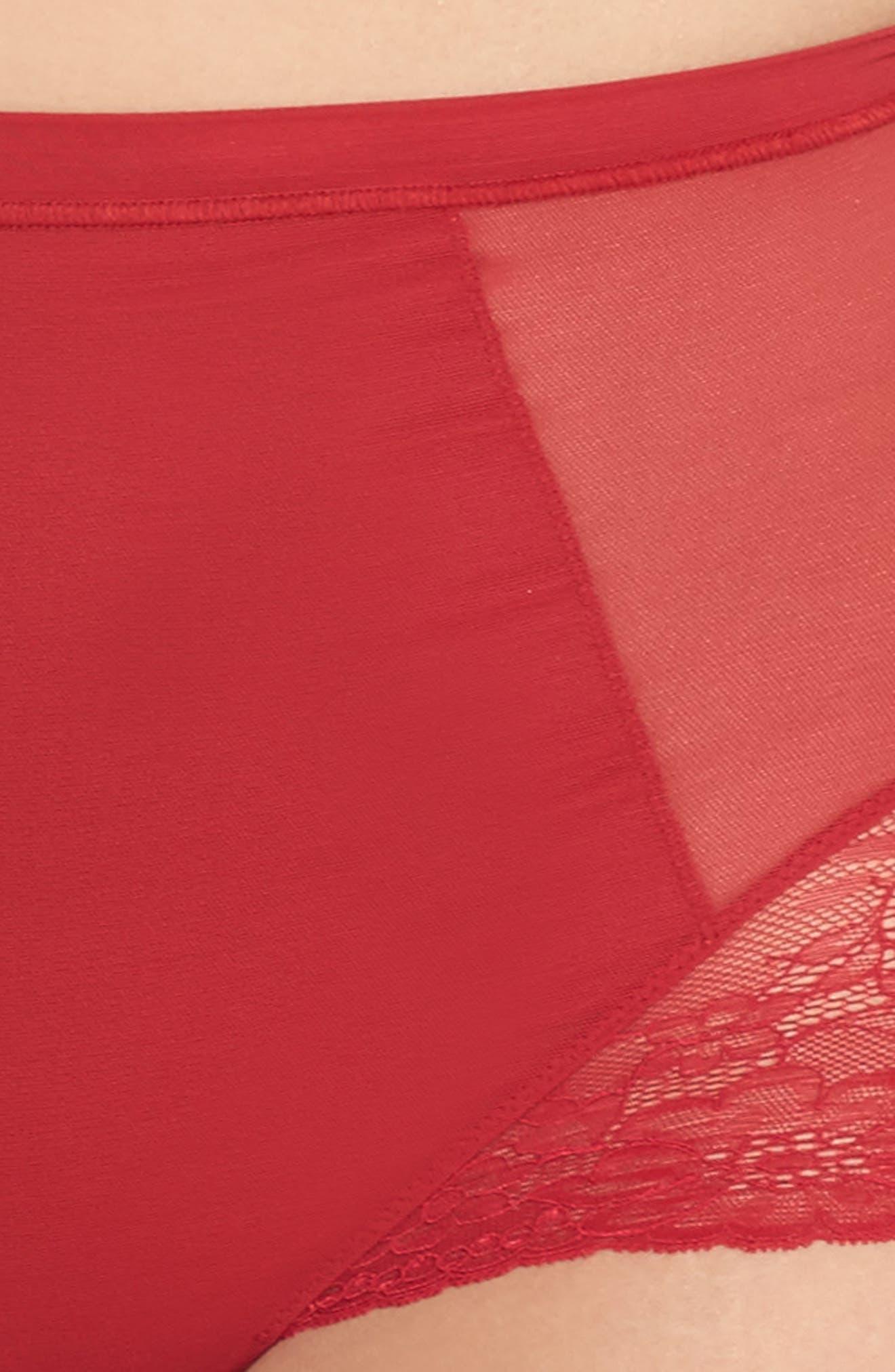 Alternate Image 3  - SPANX® Spotlight On Lace Briefs (Plus Size)