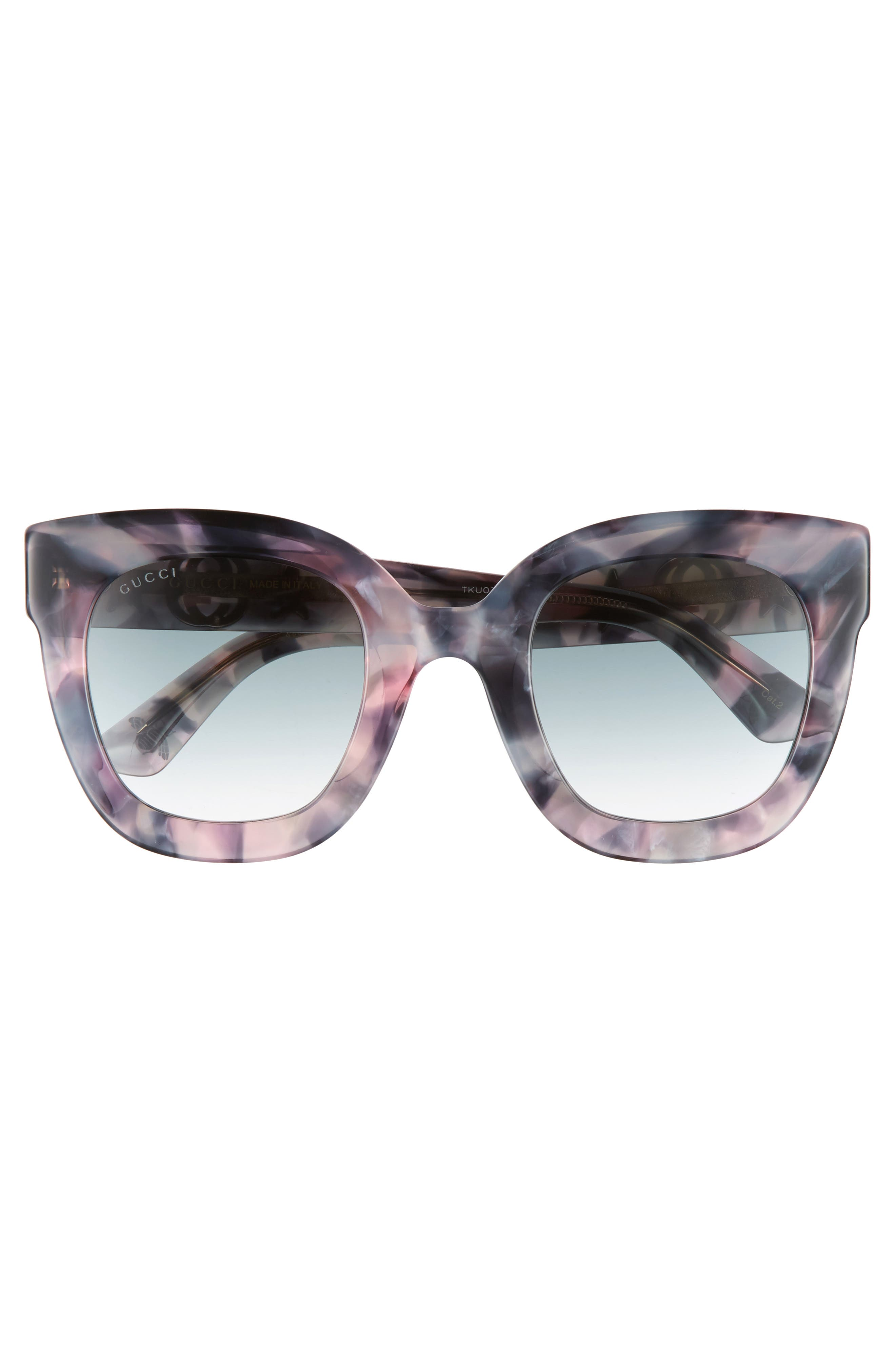 Alternate Image 3  - Gucci 49mm Cat Eye Sunglasses