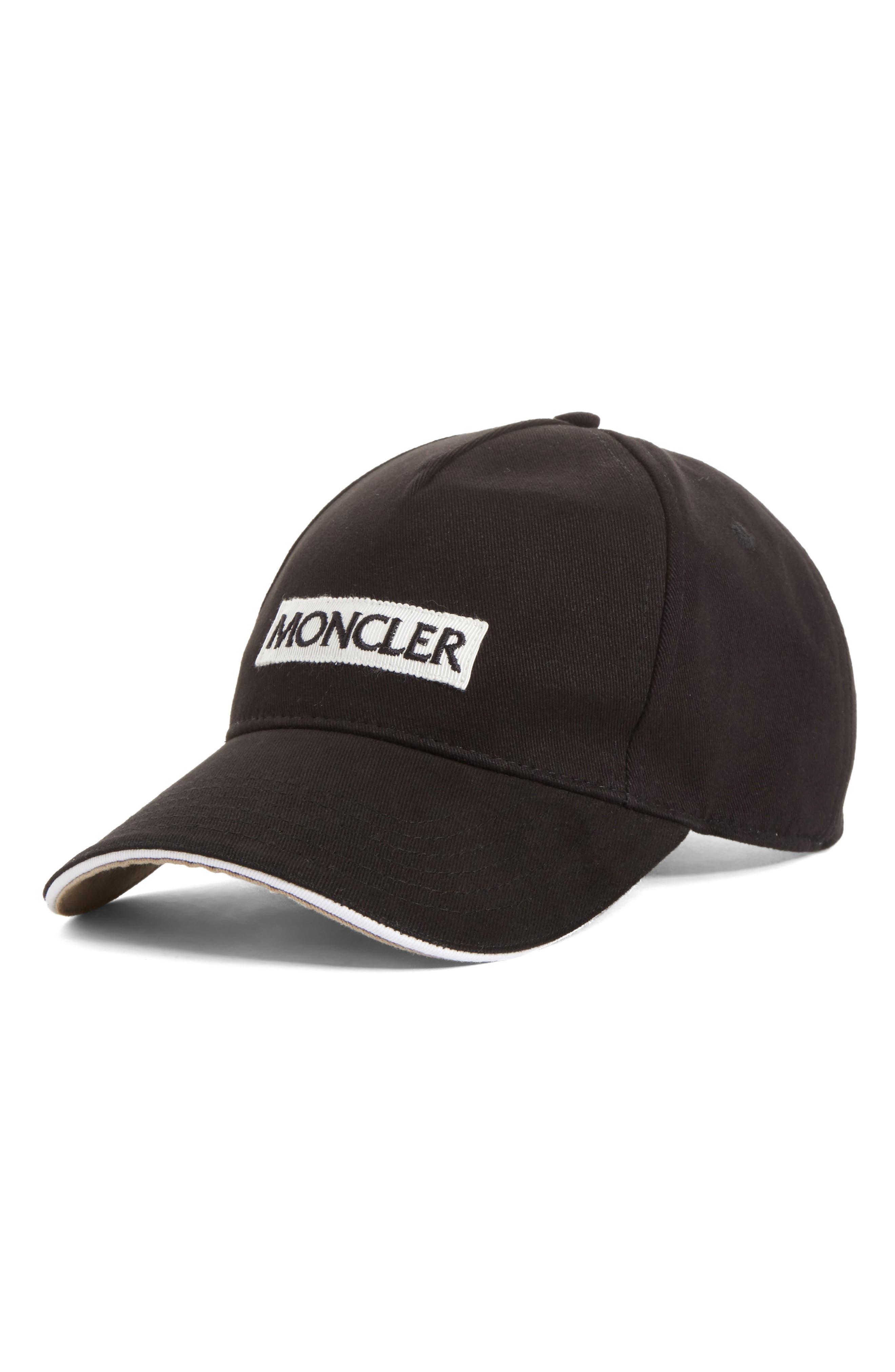 Main Image - Moncler Logo Baseball Cap