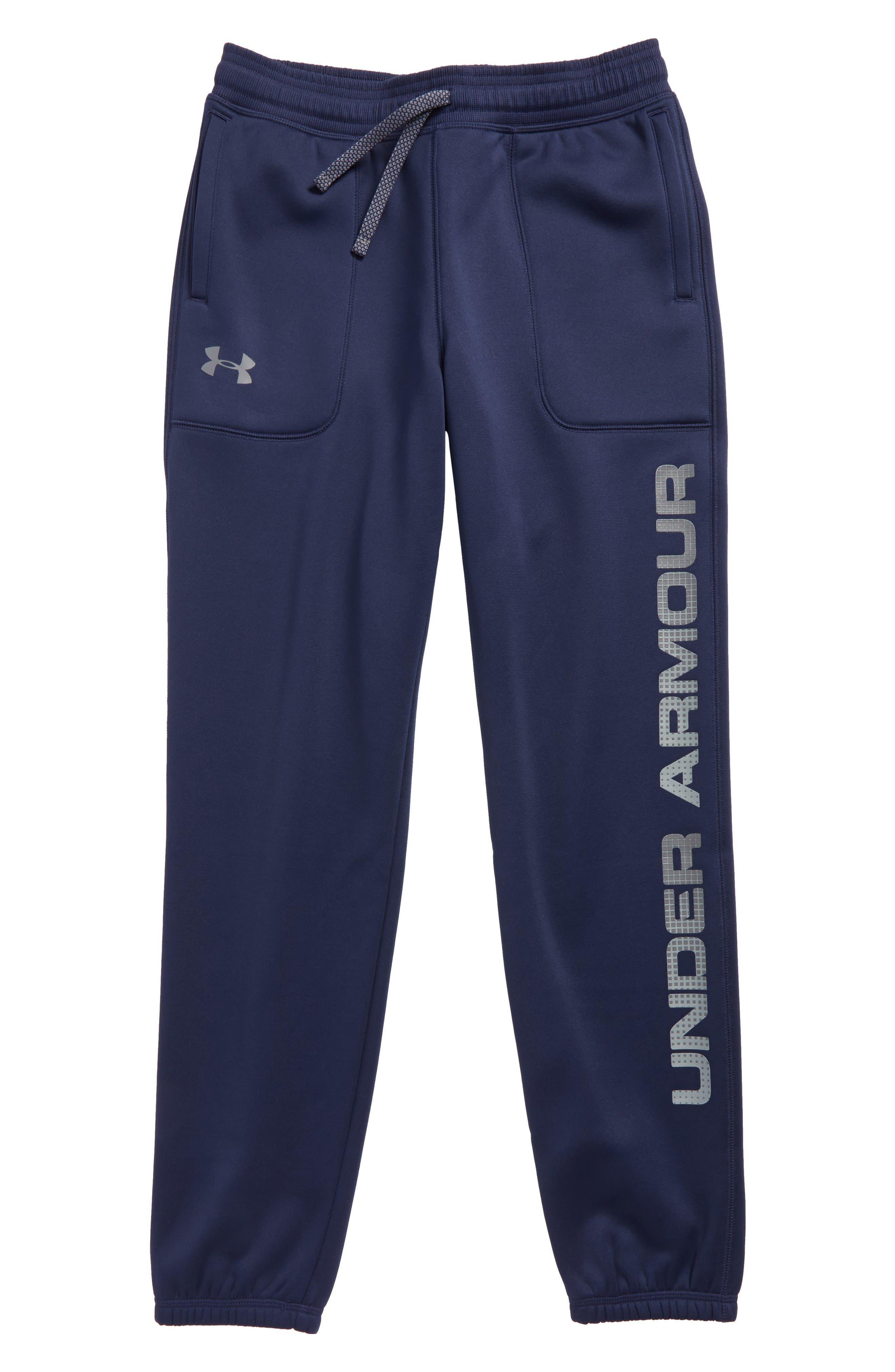 Storm ColdGear<sup>®</sup> Jogger Pants,                         Main,                         color, Midnight Navy/ Graphite