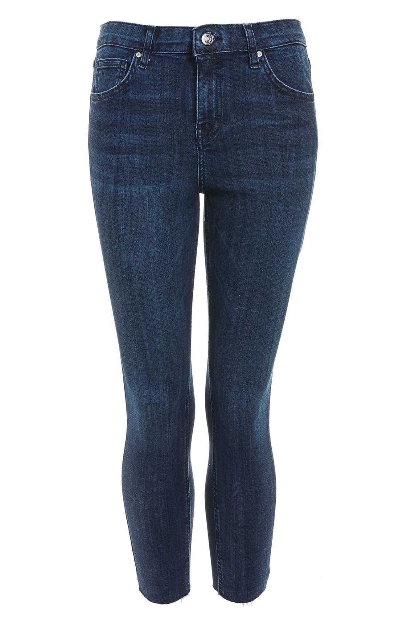 Alternate Image 3  - Topshop Jamie High Waist Skinny Jeans (Petite)