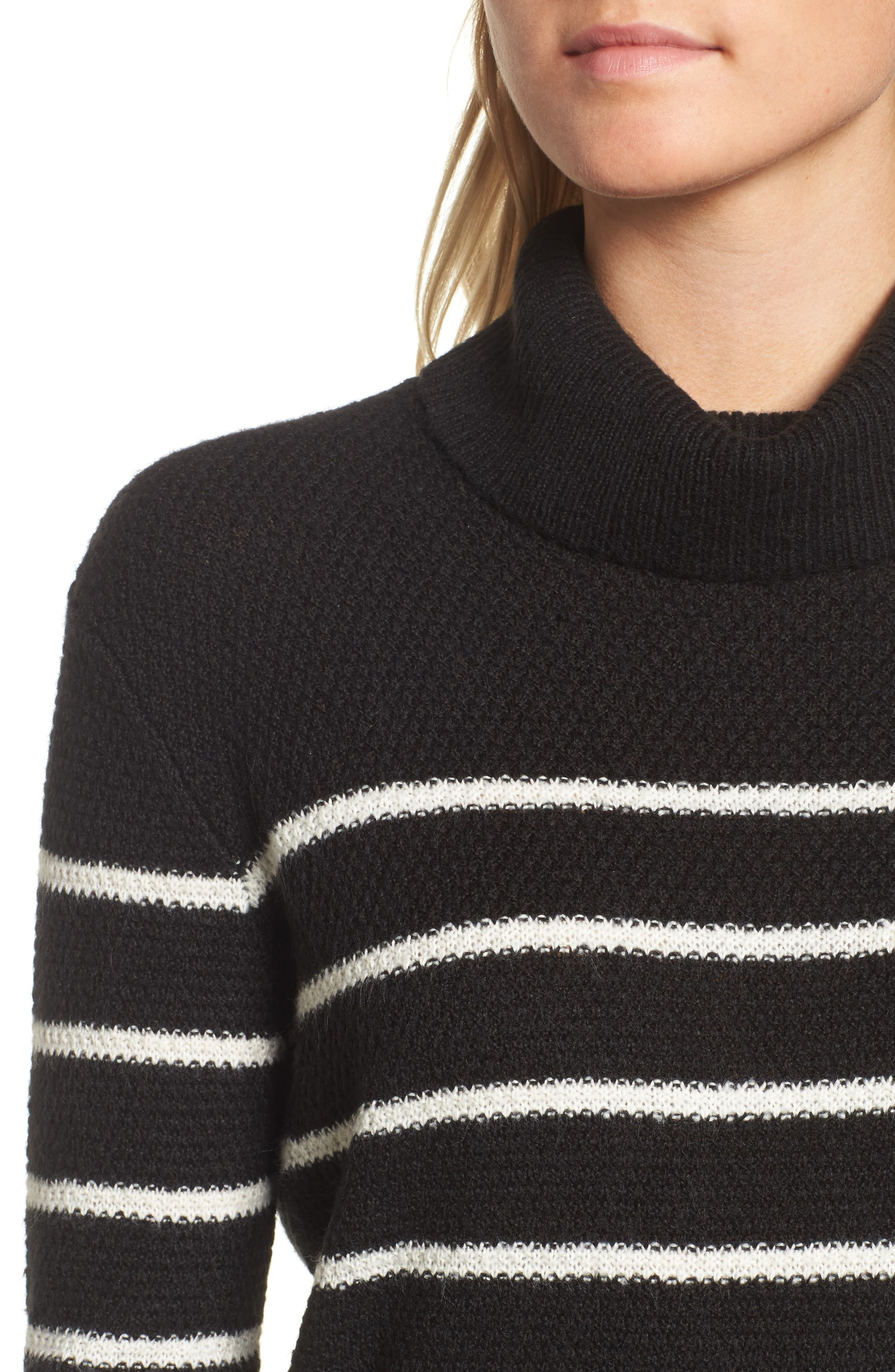 Alternate Image 4  - cupcakes and cashmere Renny Turtleneck Sweater