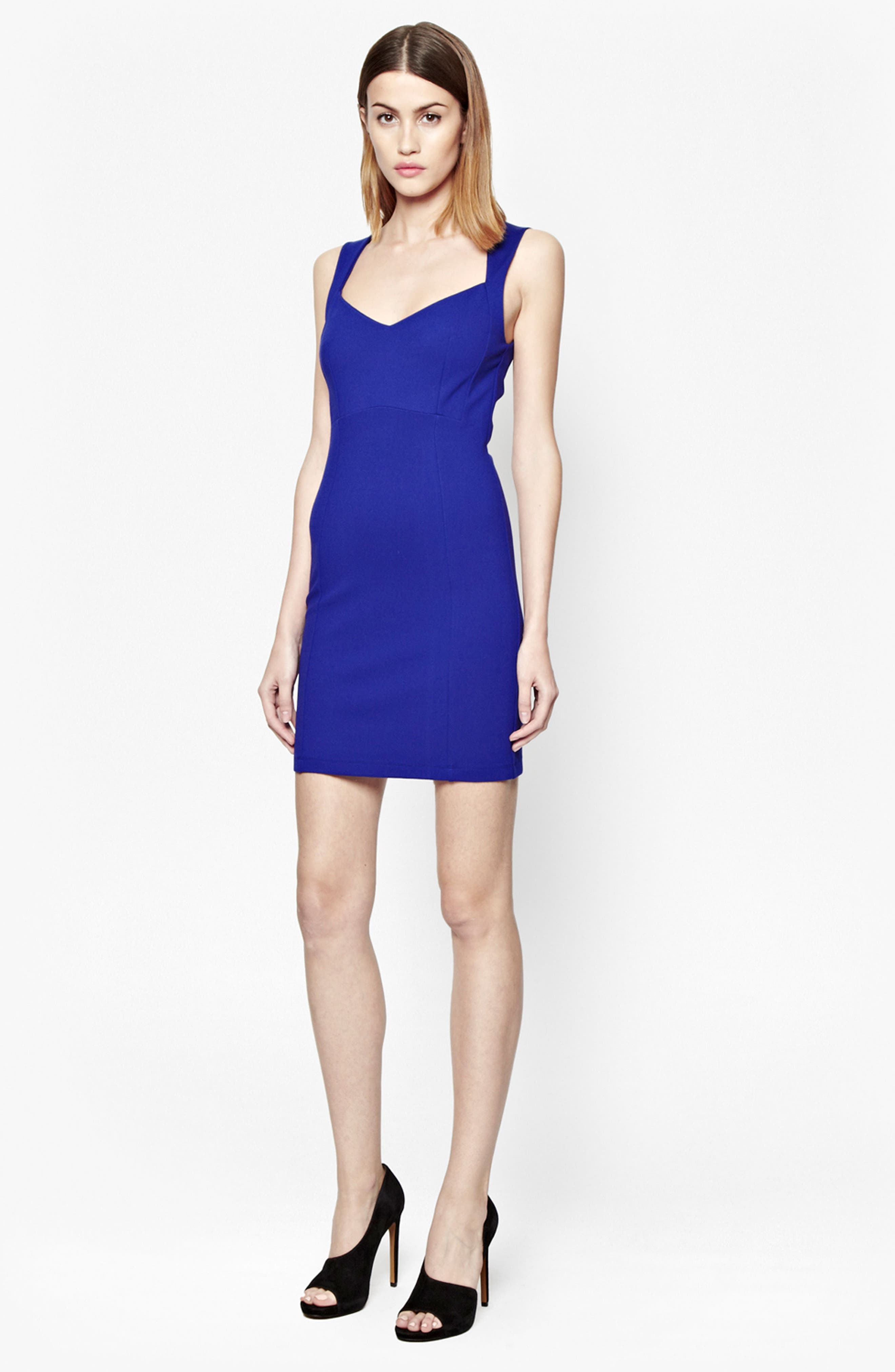 Alternate Image 2  - French Connection 'Lula' Stretch Body-Con Dress