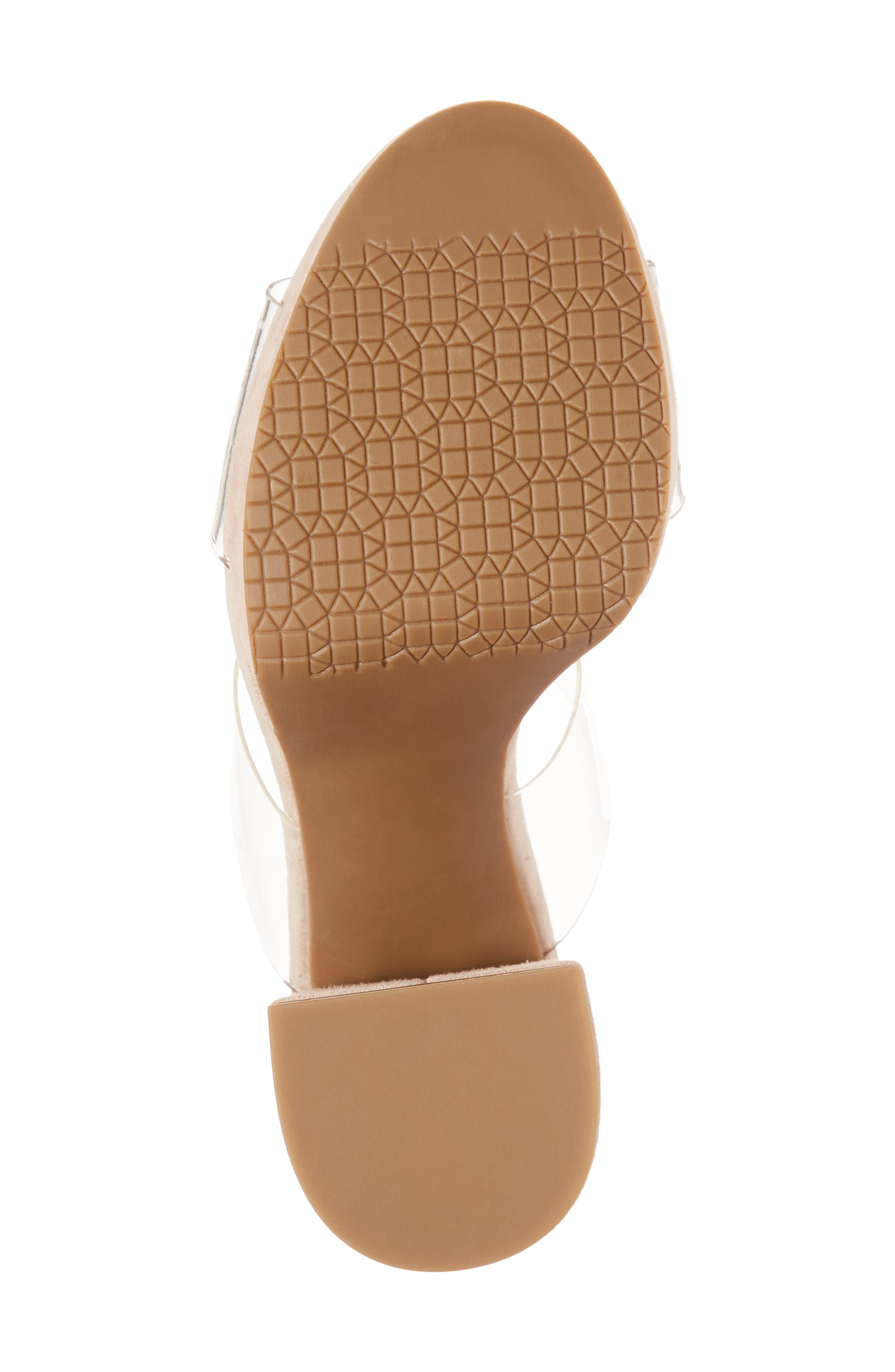 Sophia Platform Sandal,                             Alternate thumbnail 8, color,                             Blush