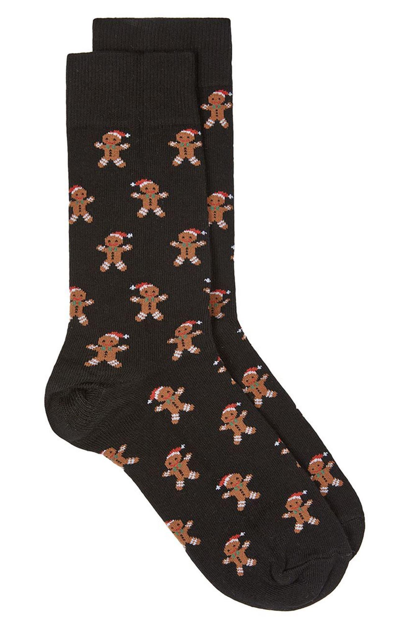 Topman Christmas Gingerbread Socks