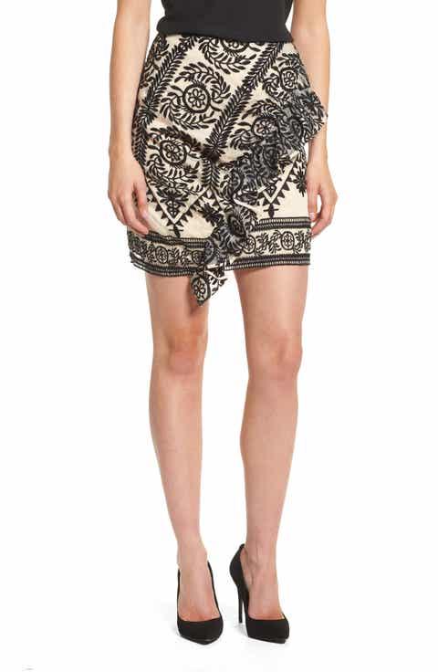 Elliatt Soiree Ruffle Miniskirt