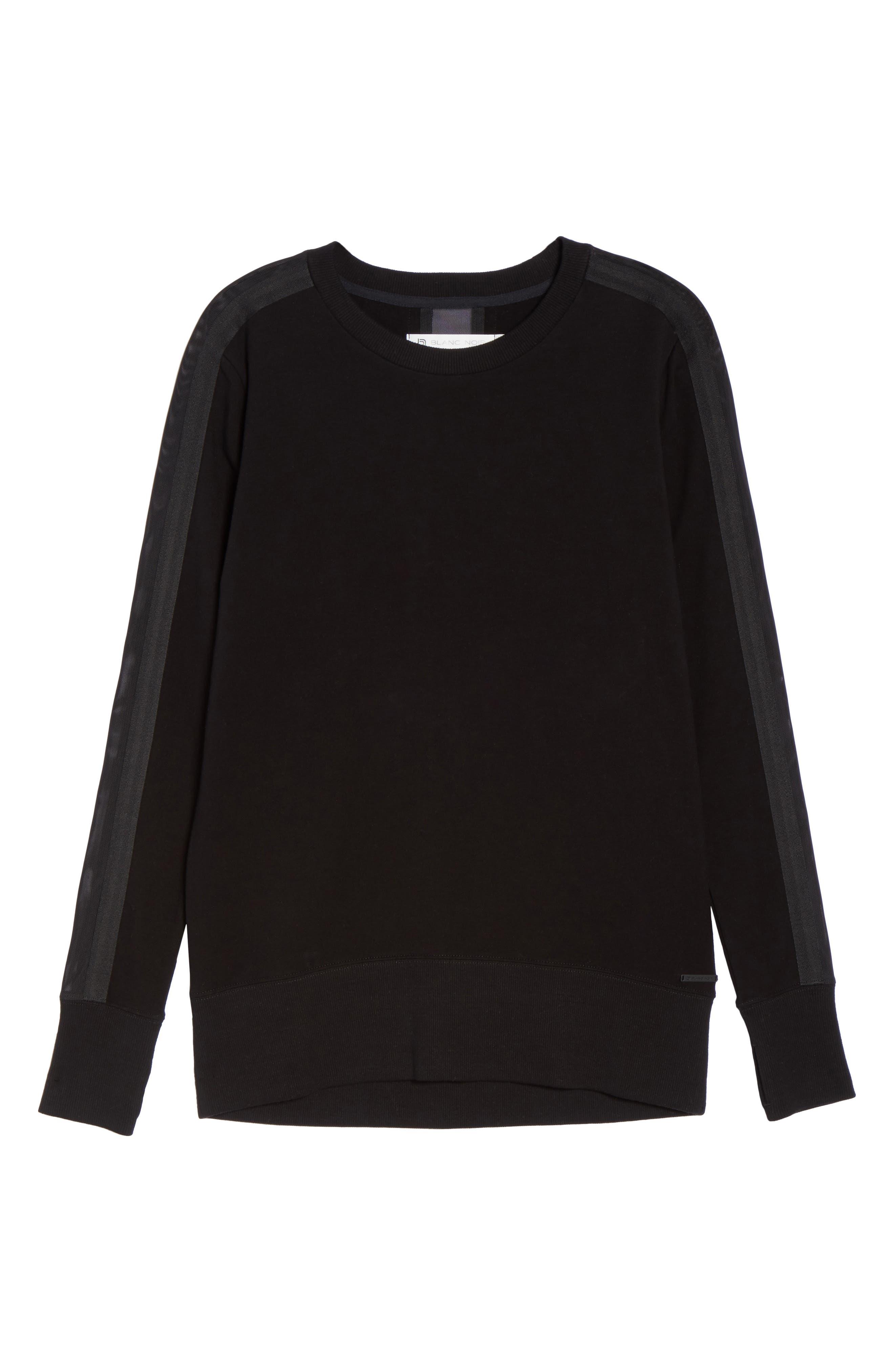 Alternate Image 6  - Blanc Noir Social Sweatshirt