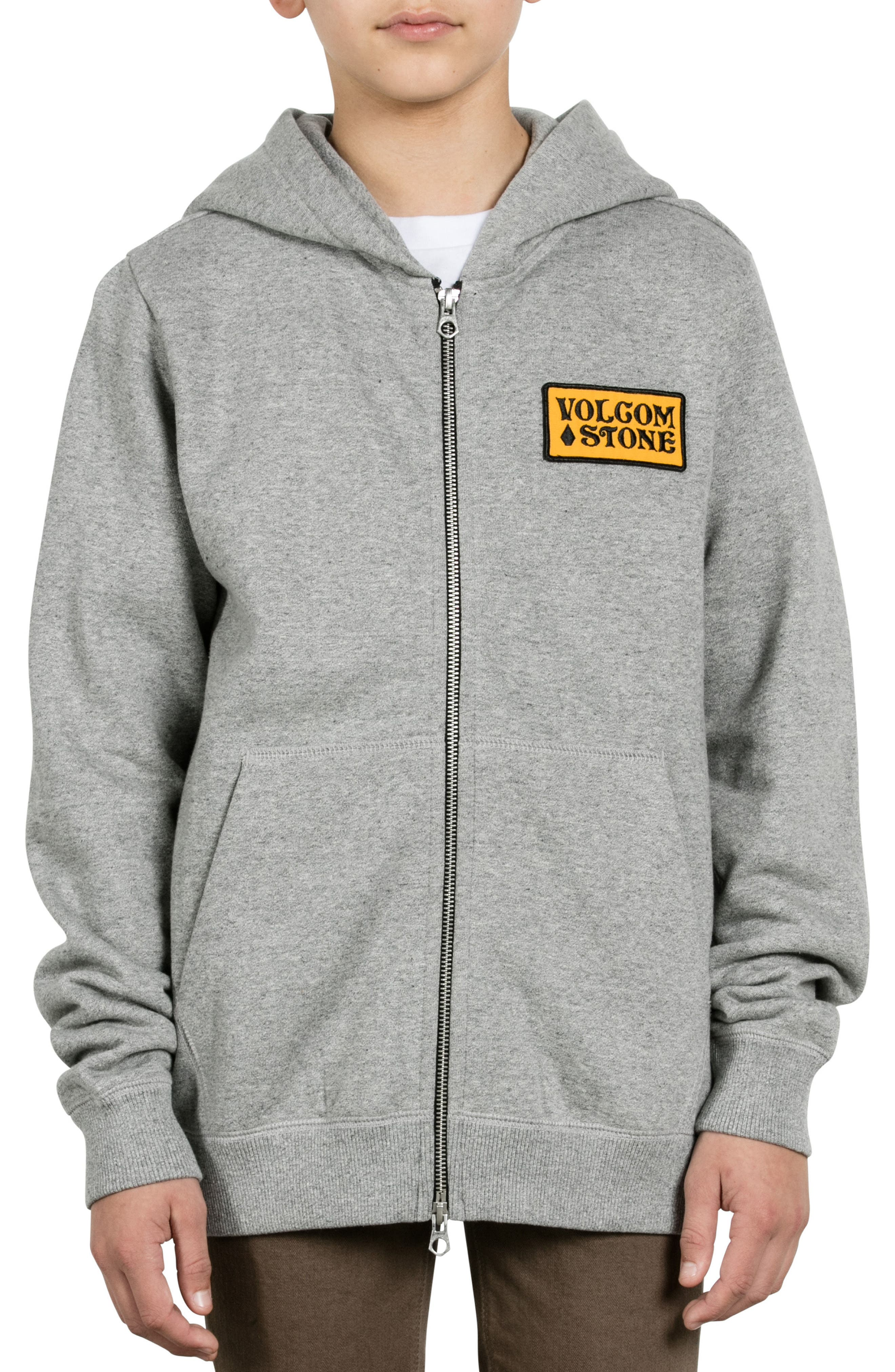 Volcom Shop Fleece Hoodie (Big Boys)
