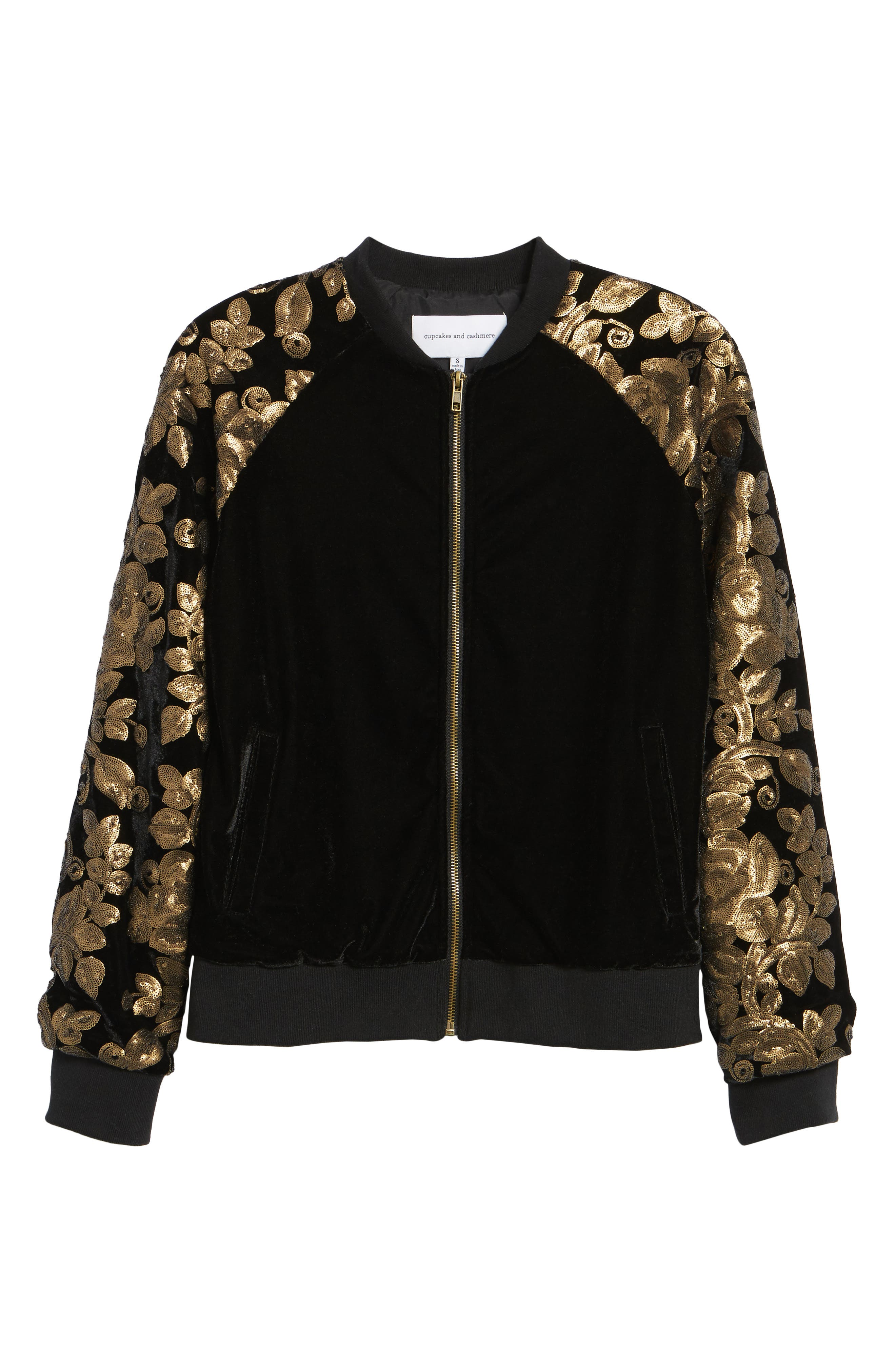 Alternate Image 6  - cupcakes and cashmere Axwell Bomber Jacket