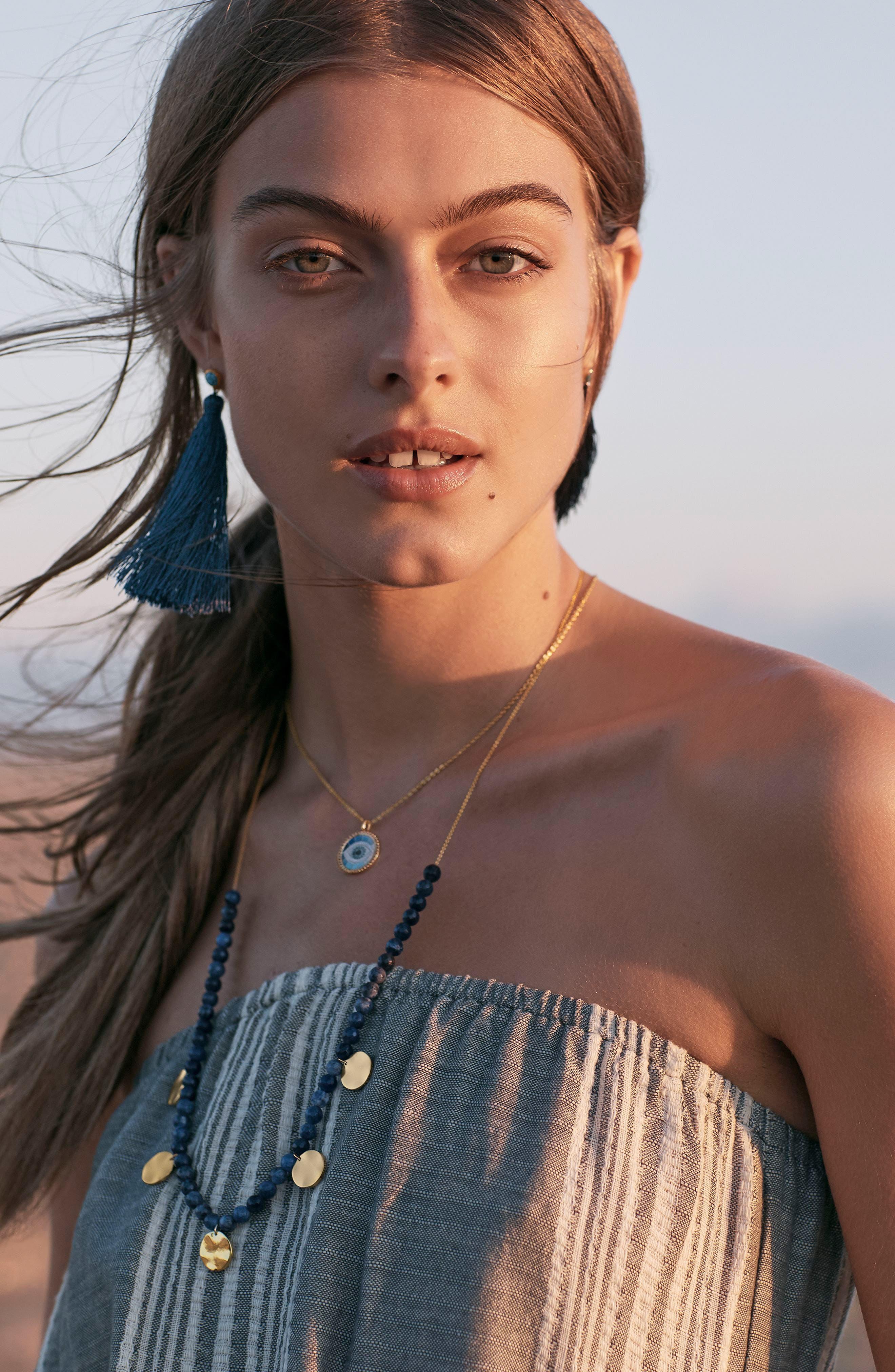 Alternate Image 4  - gorjana Tulum Tassel Earrings
