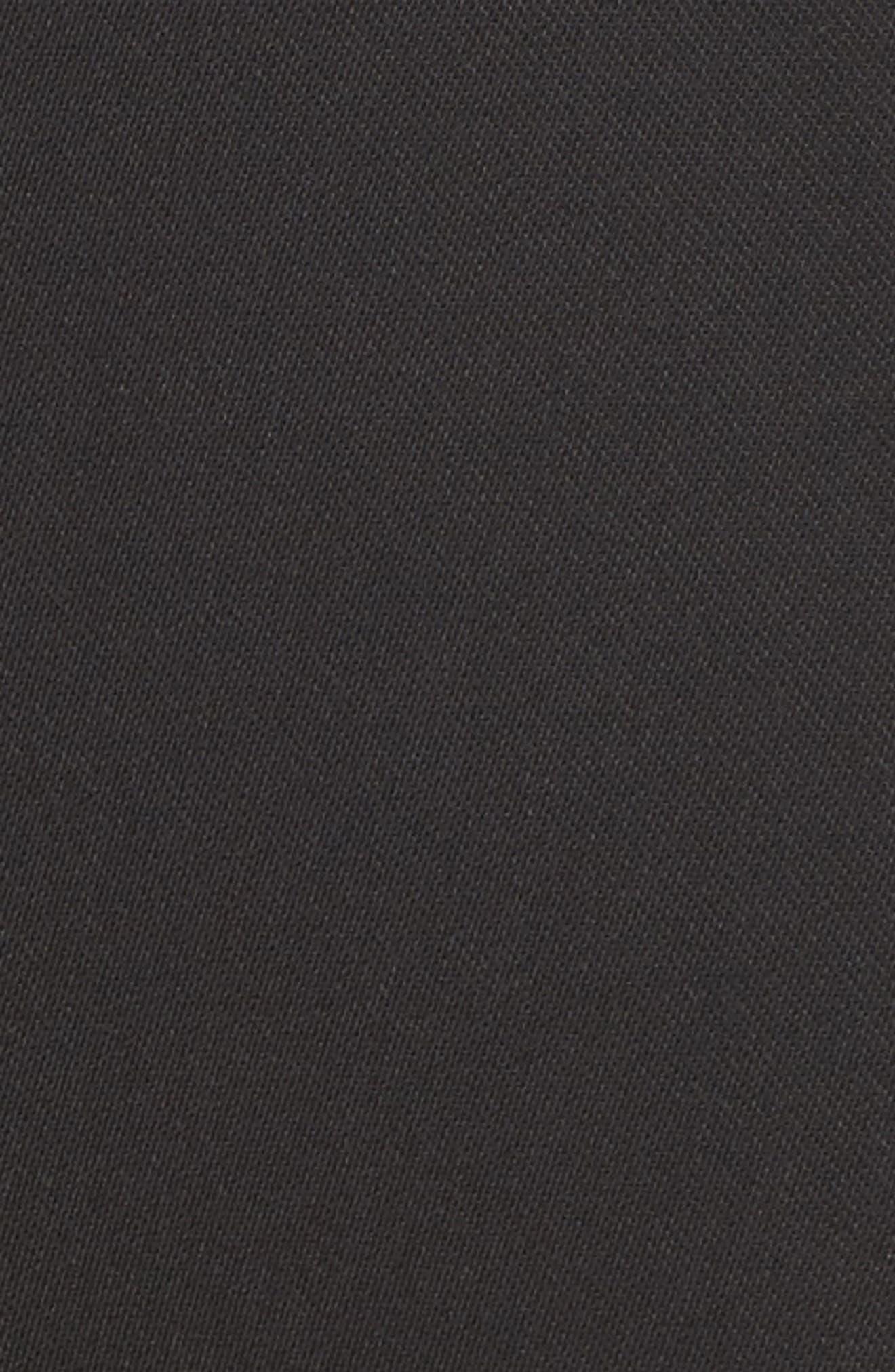 Ceremony Crop Trousers,                             Alternate thumbnail 5, color,                             Black