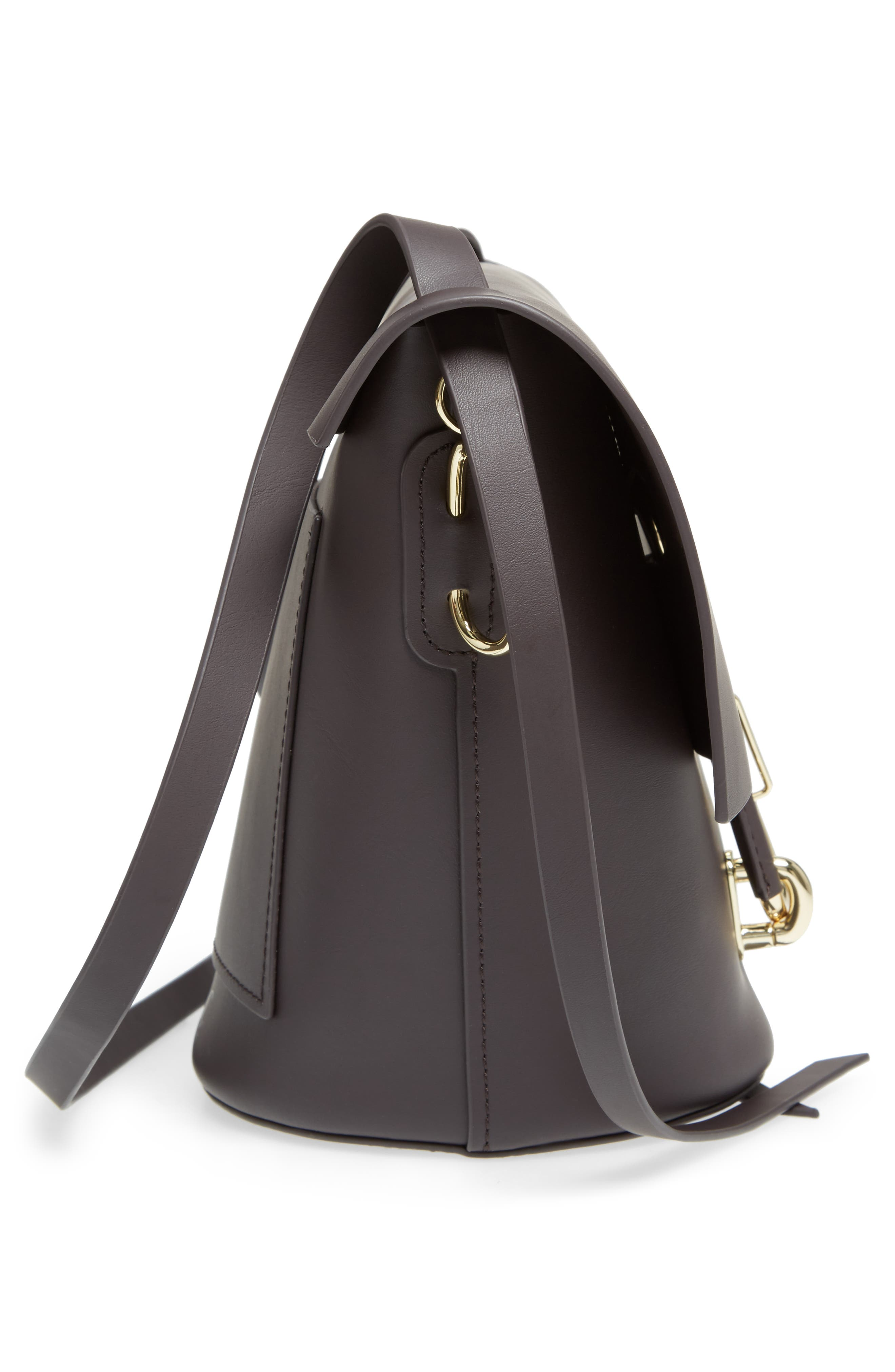 Alternate Image 4  - ZAC Zac Posen Belay Calfskin Leather Crossbody Bucket Bag
