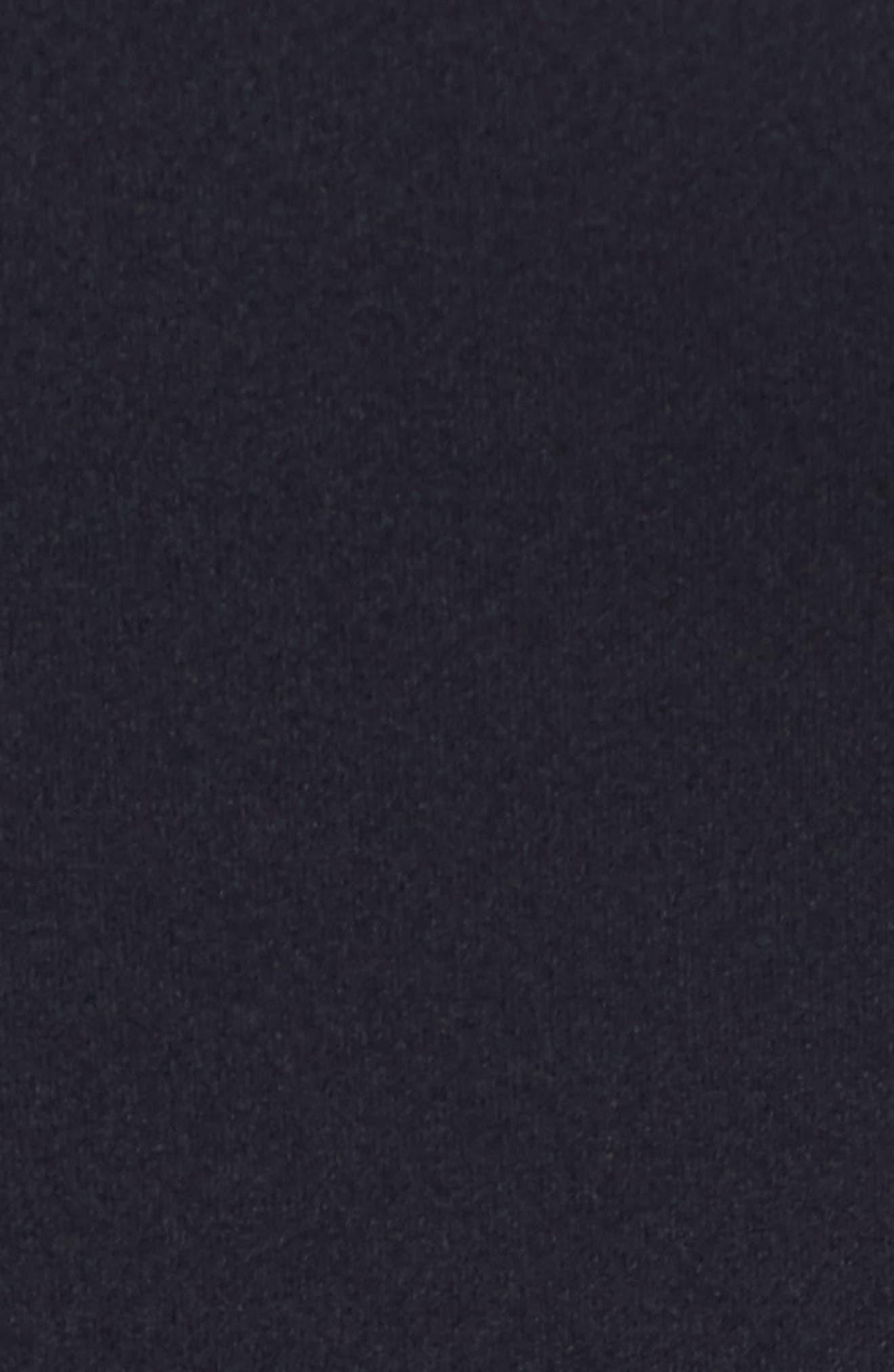 Cold Shoulder Sheath Dress,                             Alternate thumbnail 5, color,                             Dark Navy