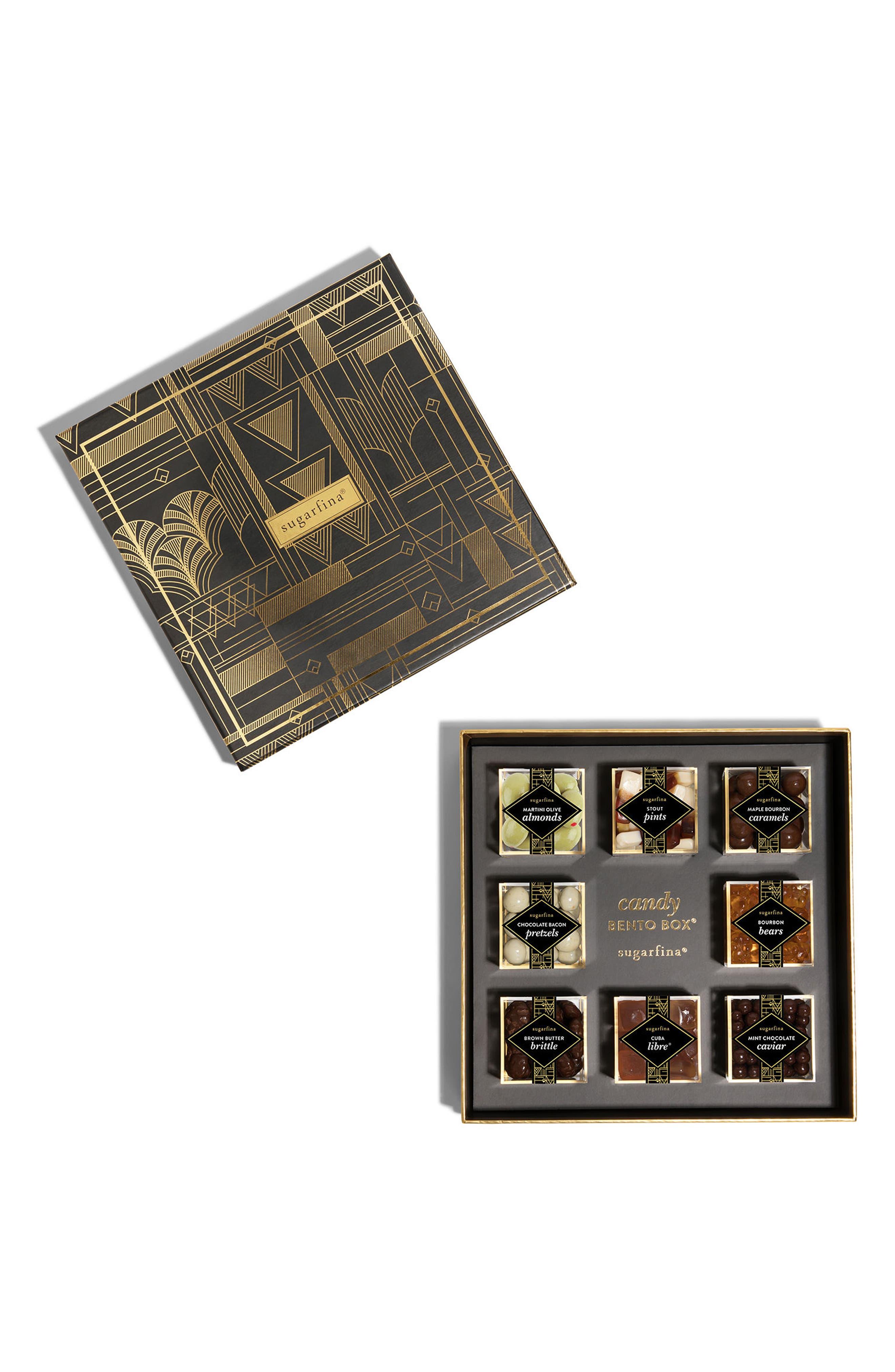 The Vice Collection 8-Piece Candy Bento Box,                             Alternate thumbnail 4, color,                             Black