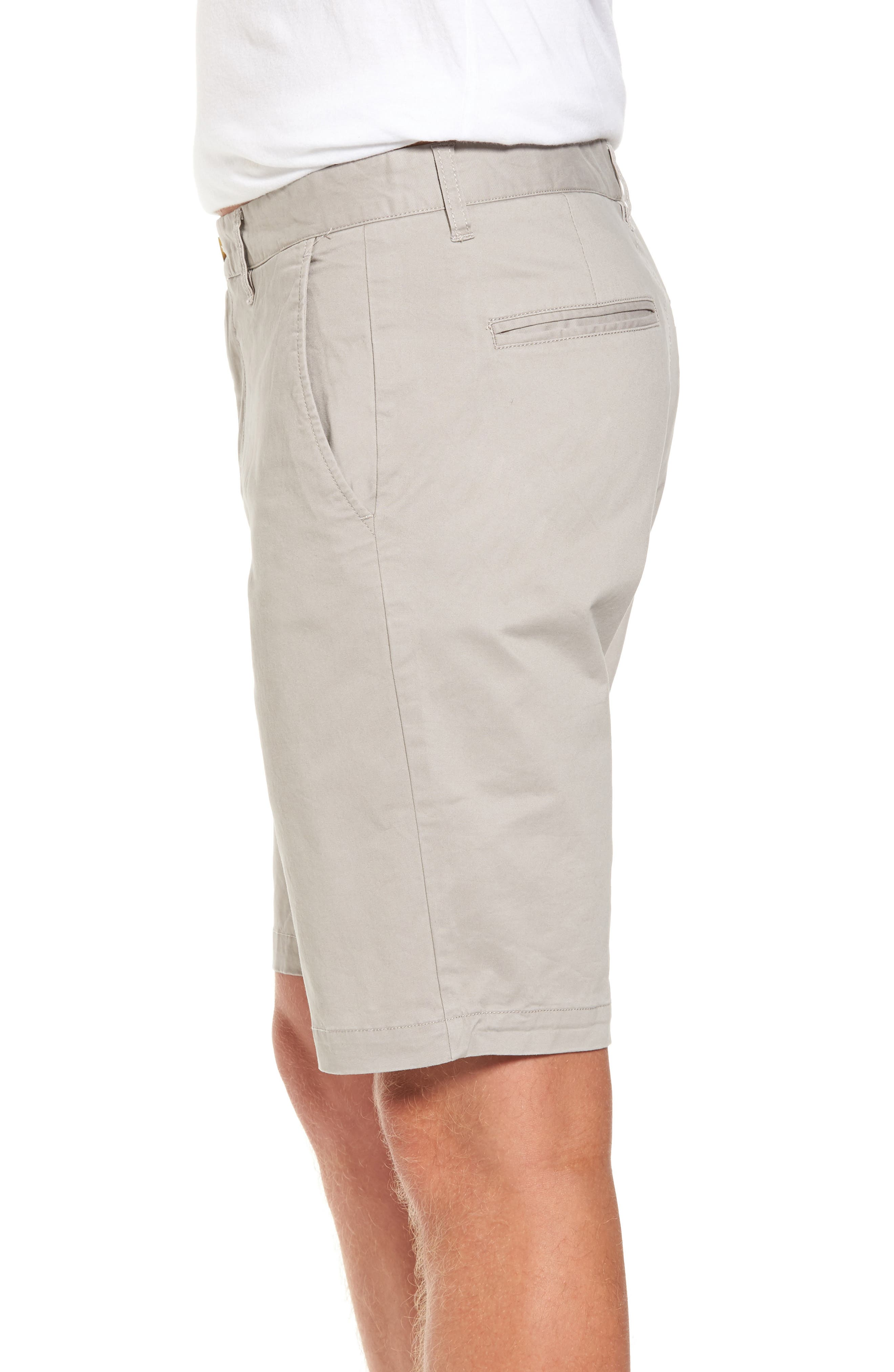 Alternate Image 3  - 7 Diamonds Slim Fit Brushed Twill Shorts