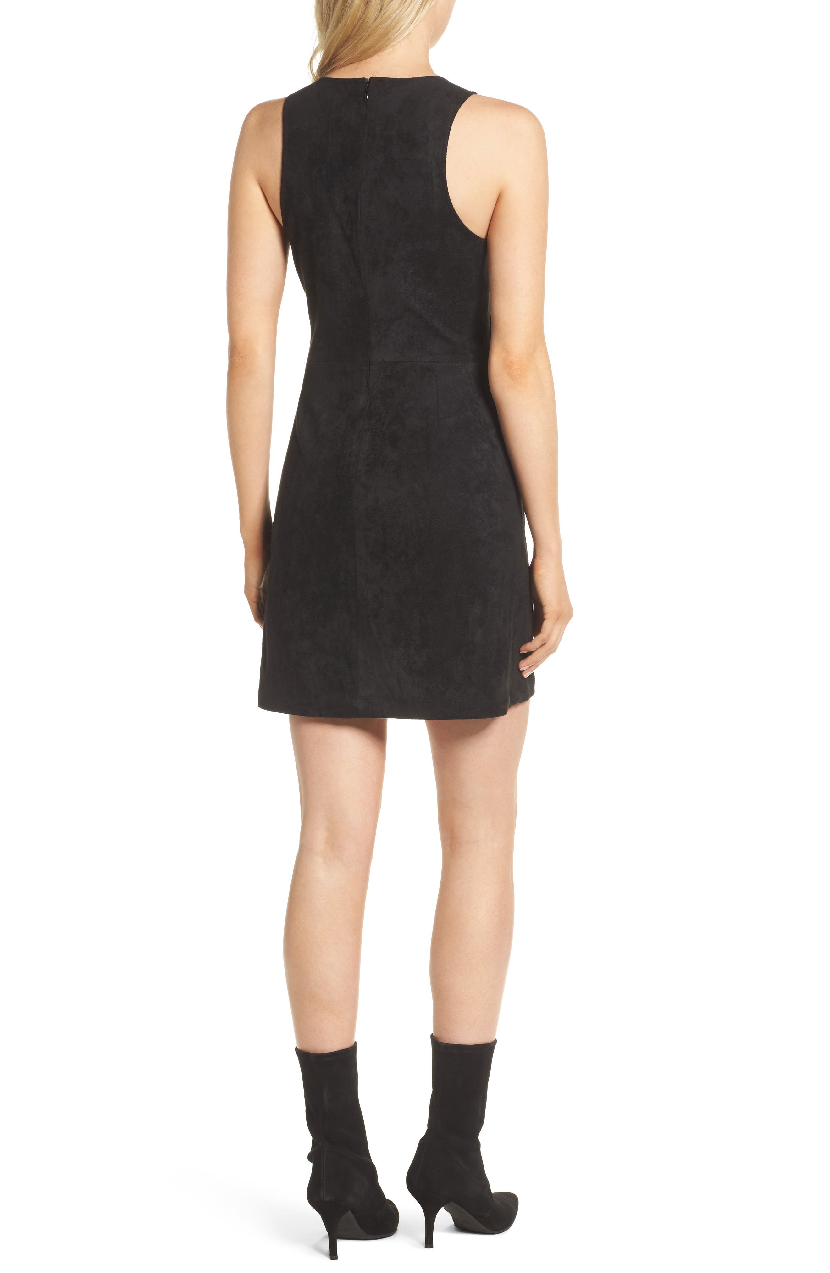 Alternate Image 2  - cupcakes and cashmere Valet Embroidered Minidress