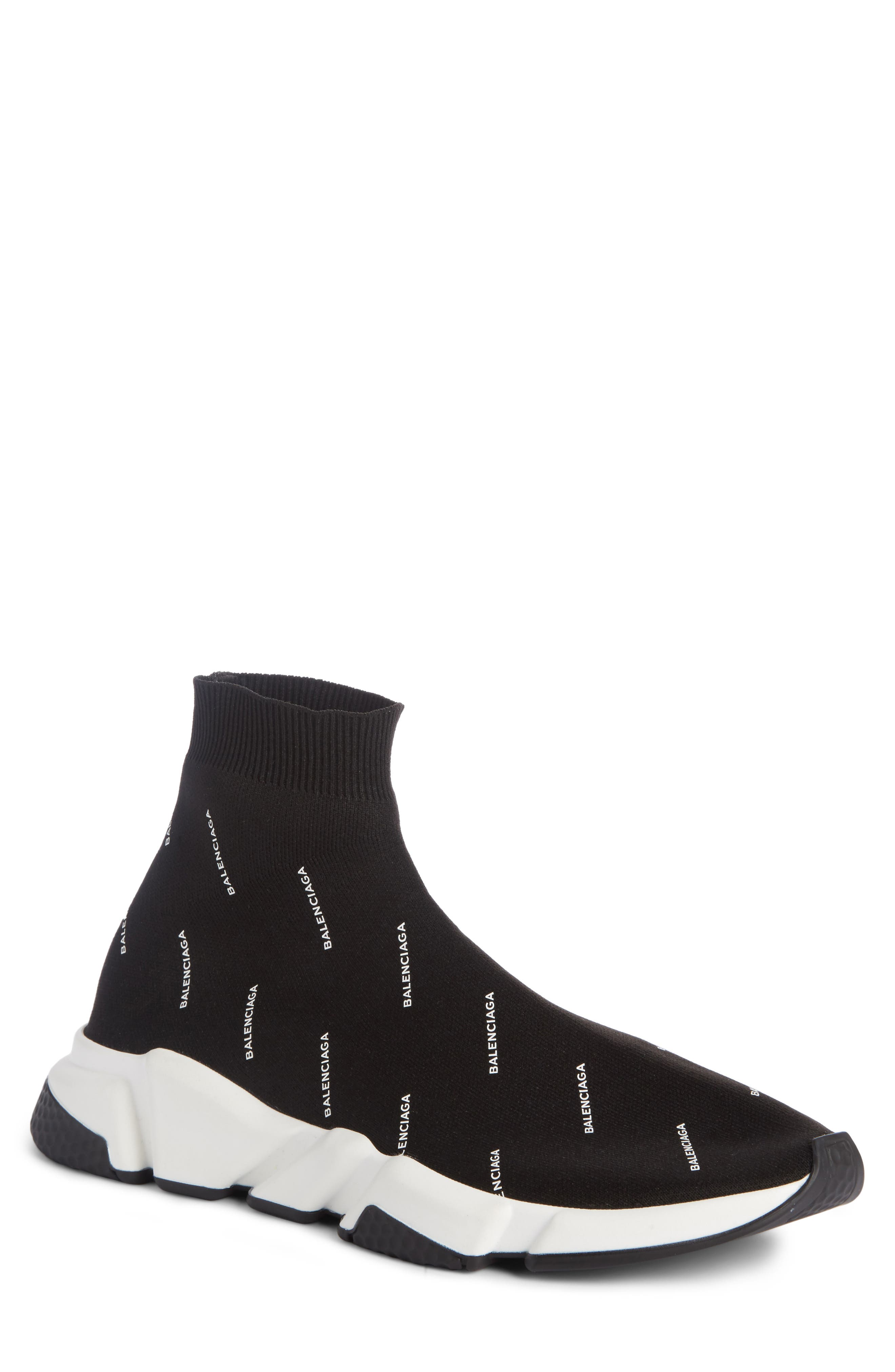 Balenciaga Logo Speed Slip-On (Men)